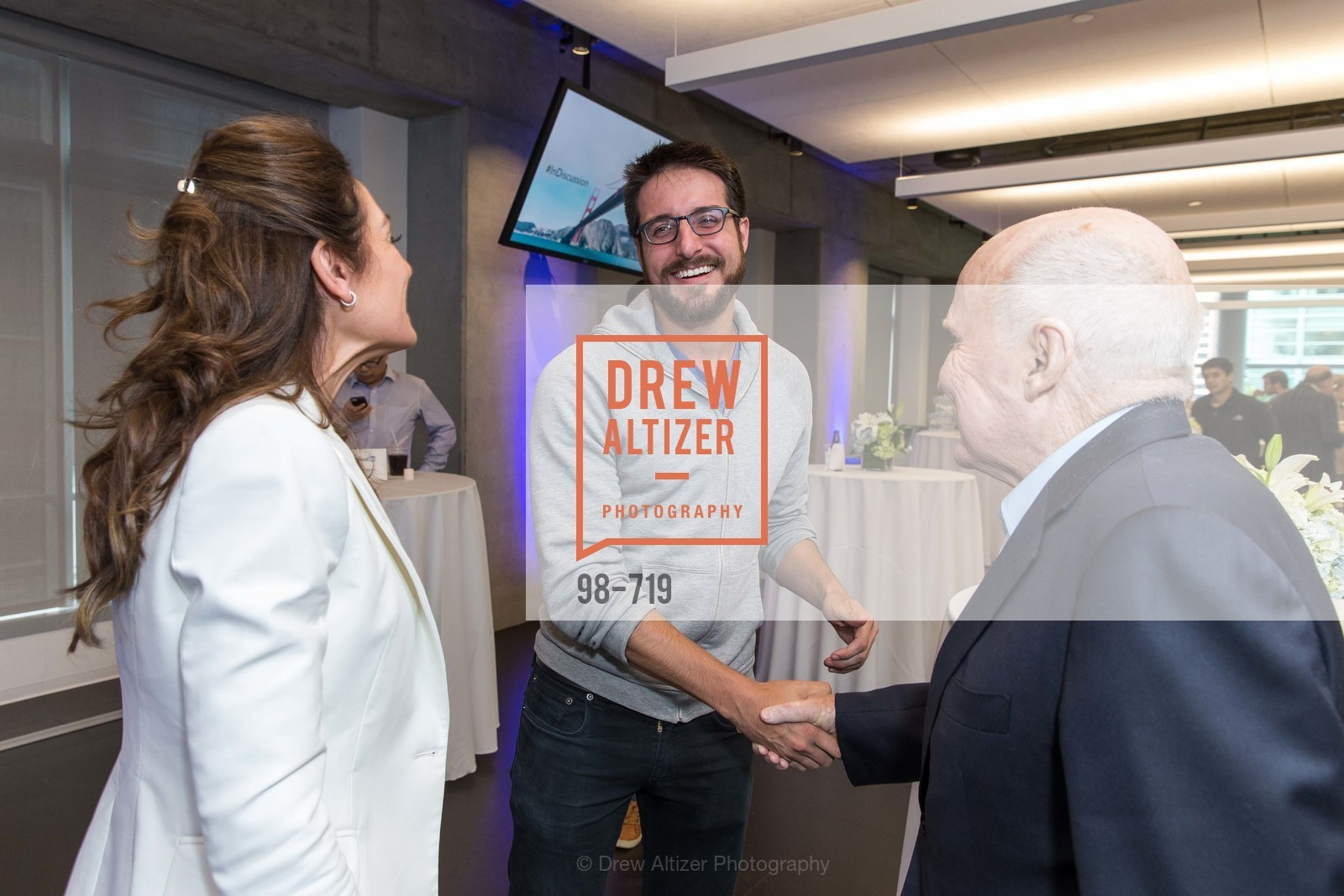 Suzy Welch, Charles Cushing, Jack Welch, THE LINKEDIN Discussion Series featuring Jack and Suzy Welch with LinkedIn Executive Editor Dan Roth, US, May 12th, 2015,Drew Altizer, Drew Altizer Photography, full-service agency, private events, San Francisco photographer, photographer california