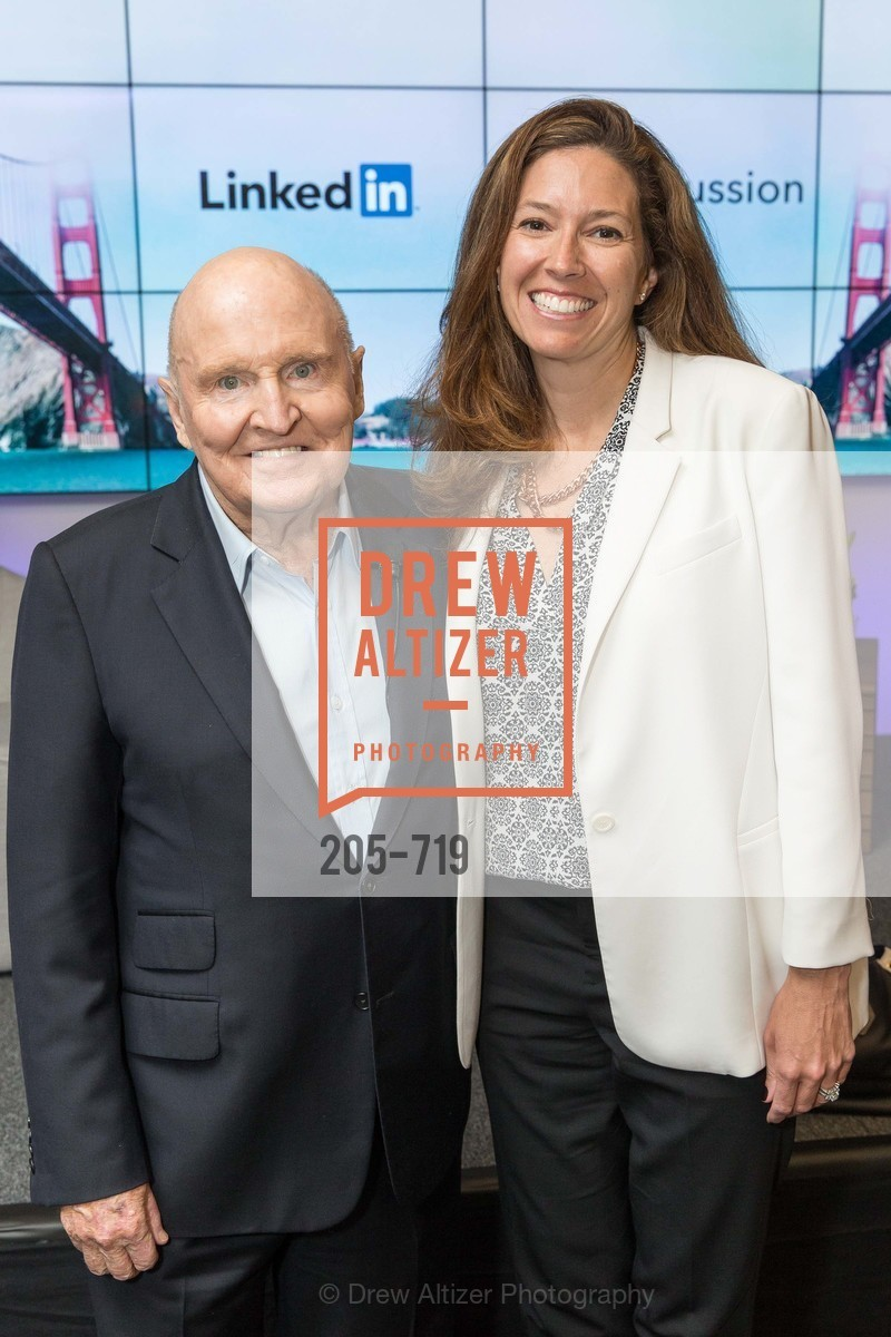 Jack Welch, Kristine Shine, THE LINKEDIN Discussion Series featuring Jack and Suzy Welch with LinkedIn Executive Editor Dan Roth, US, May 12th, 2015,Drew Altizer, Drew Altizer Photography, full-service agency, private events, San Francisco photographer, photographer california