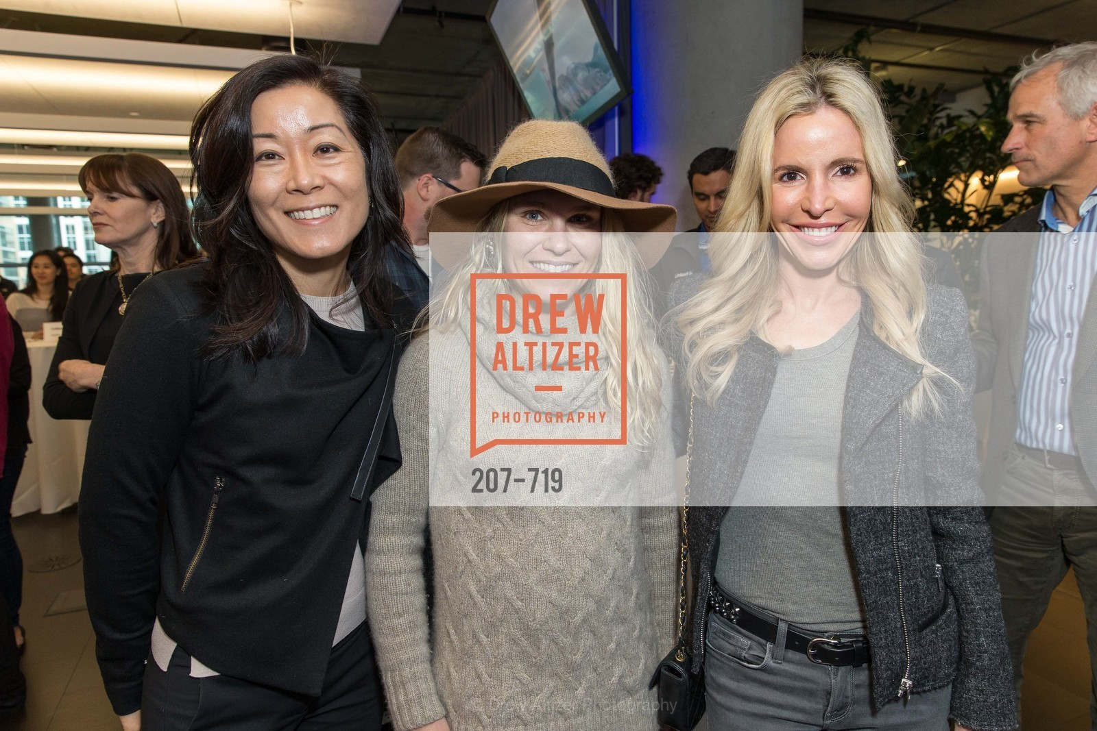 Mallum Yen, Tatum Getty, Lana Adair, THE LINKEDIN Discussion Series featuring Jack and Suzy Welch with LinkedIn Executive Editor Dan Roth, US, May 11th, 2015,Drew Altizer, Drew Altizer Photography, full-service agency, private events, San Francisco photographer, photographer california