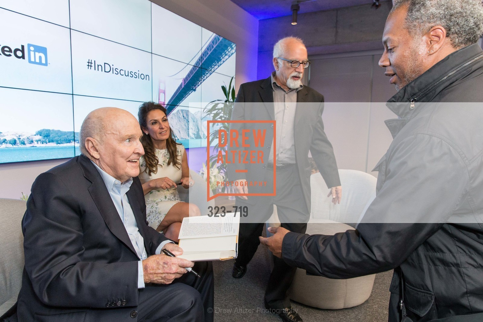 Jack Welch, Suzy Welch, THE LINKEDIN Discussion Series featuring Jack and Suzy Welch with LinkedIn Executive Editor Dan Roth, US, May 12th, 2015,Drew Altizer, Drew Altizer Photography, full-service agency, private events, San Francisco photographer, photographer california