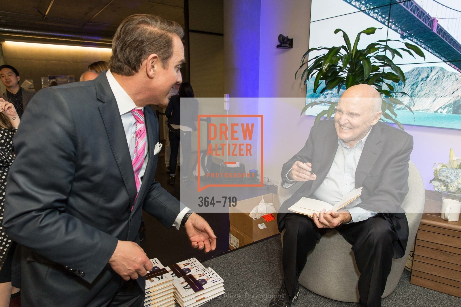 Joel Goodrich, Jack Welch, THE LINKEDIN Discussion Series featuring Jack and Suzy Welch with LinkedIn Executive Editor Dan Roth, US, May 12th, 2015,Drew Altizer, Drew Altizer Photography, full-service agency, private events, San Francisco photographer, photographer california