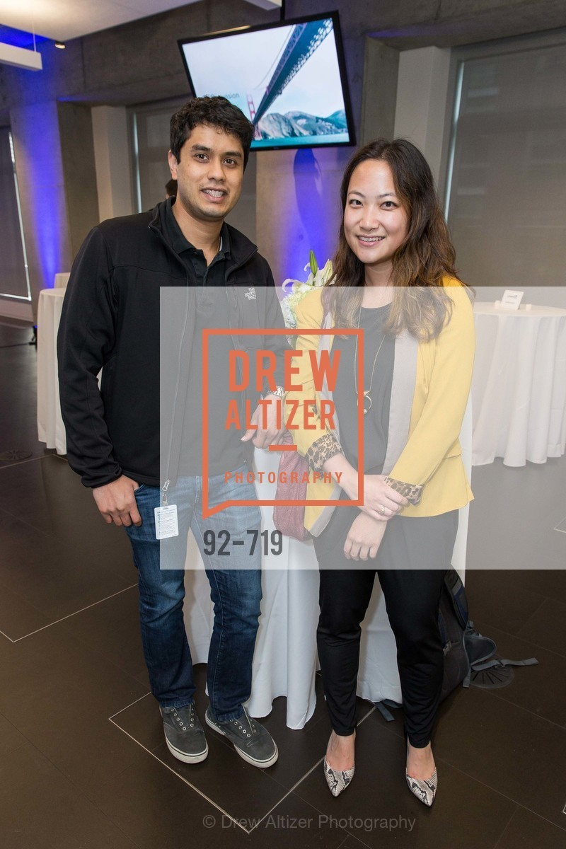 Rohit Jonnalagadda, Helen Weng, THE LINKEDIN Discussion Series featuring Jack and Suzy Welch with LinkedIn Executive Editor Dan Roth, US, May 11th, 2015,Drew Altizer, Drew Altizer Photography, full-service agency, private events, San Francisco photographer, photographer california