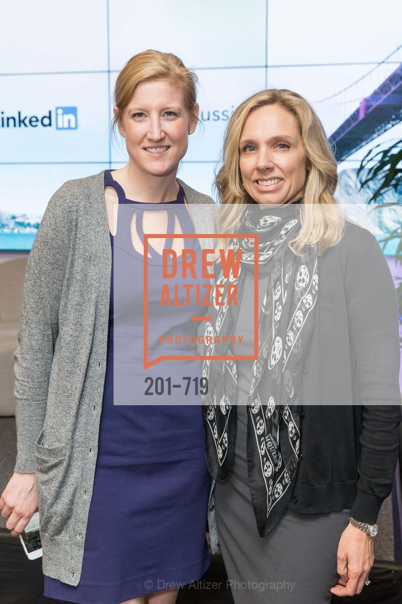 Blair Becembrele, Catherine Fisher, THE LINKEDIN Discussion Series featuring Jack and Suzy Welch with LinkedIn Executive Editor Dan Roth, US, May 11th, 2015,Drew Altizer, Drew Altizer Photography, full-service agency, private events, San Francisco photographer, photographer california