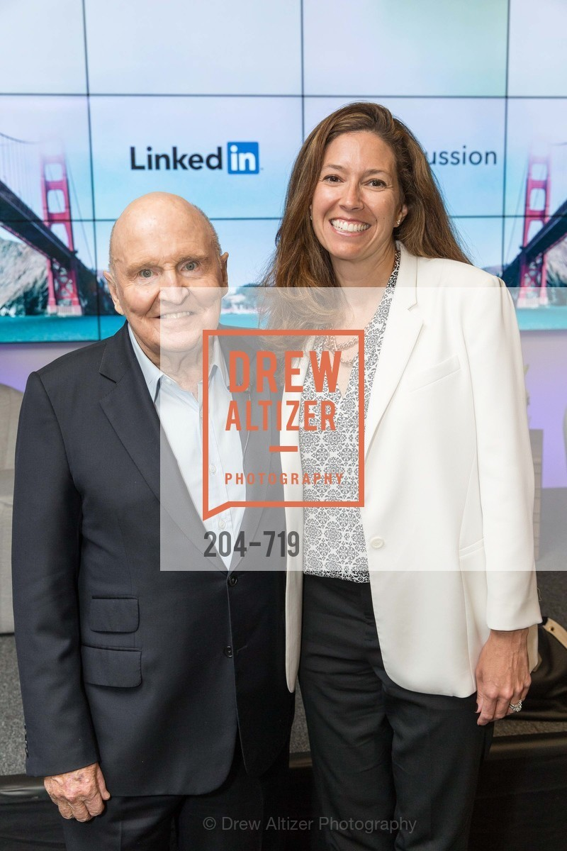 Jack Welch, Kristine Shine, THE LINKEDIN Discussion Series featuring Jack and Suzy Welch with LinkedIn Executive Editor Dan Roth, US, May 11th, 2015,Drew Altizer, Drew Altizer Photography, full-service agency, private events, San Francisco photographer, photographer california