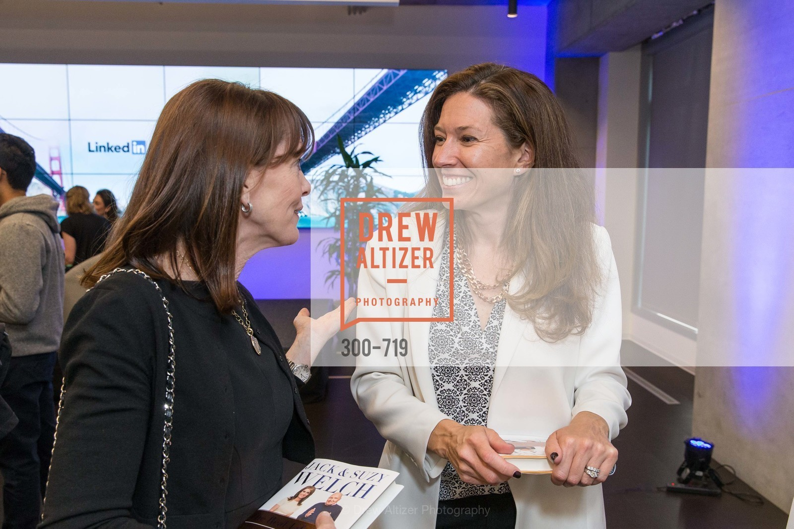 Allison Speer, Kristine Shine, THE LINKEDIN Discussion Series featuring Jack and Suzy Welch with LinkedIn Executive Editor Dan Roth, US, May 11th, 2015,Drew Altizer, Drew Altizer Photography, full-service agency, private events, San Francisco photographer, photographer california