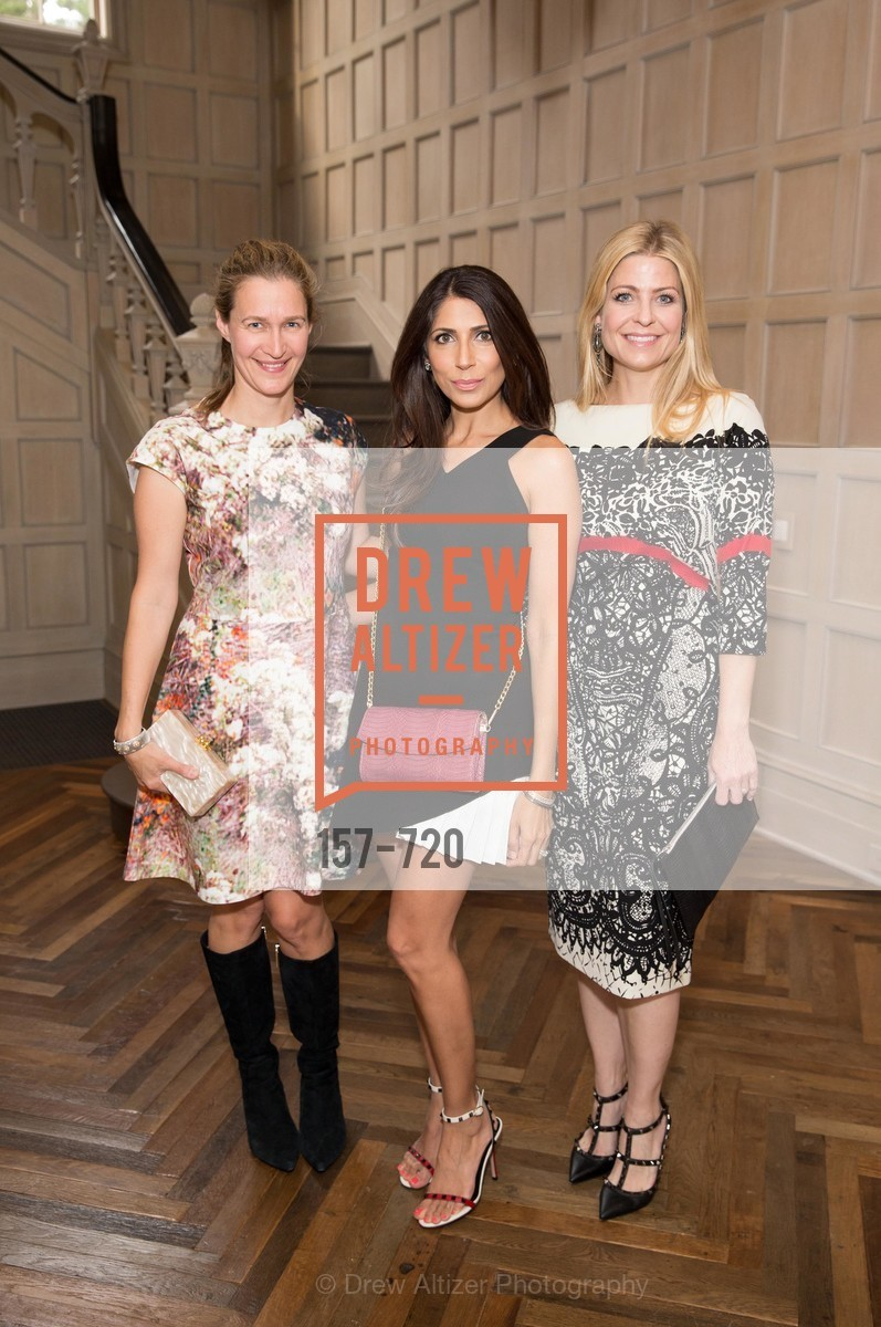 Nina Stanford, Sobia Shaikh, Jenna Hunt, C MAGAZINE Editors Cocktail Party, US, May 13th, 2015