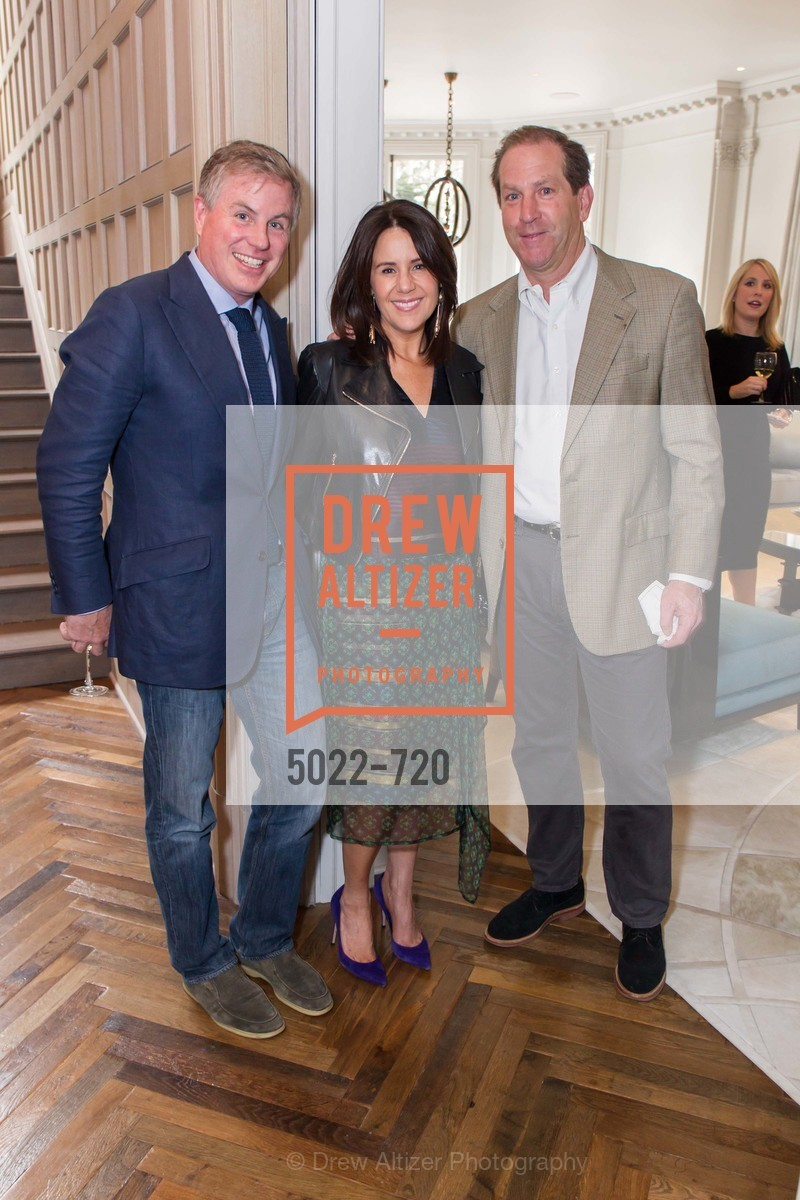 Nicholas Tingley, Leslie Campoy, Rich Maisto, C MAGAZINE Editors Cocktail Party, US, May 13th, 2015