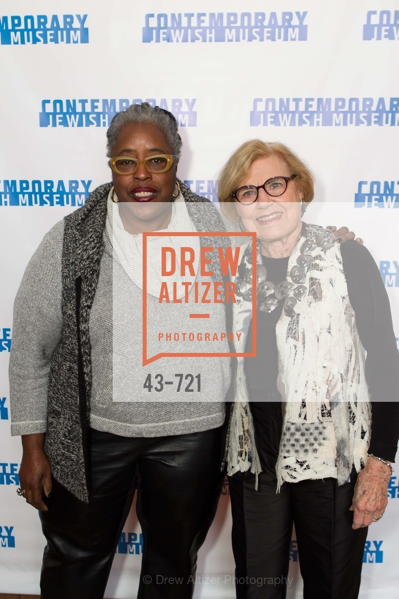 Mildred Howard, Dorothy Saxe, The 2015 Dorothy Saxe Invitational Celebration at the JEWISH MUSEUM, US, May 13th, 2015,Drew Altizer, Drew Altizer Photography, full-service agency, private events, San Francisco photographer, photographer california