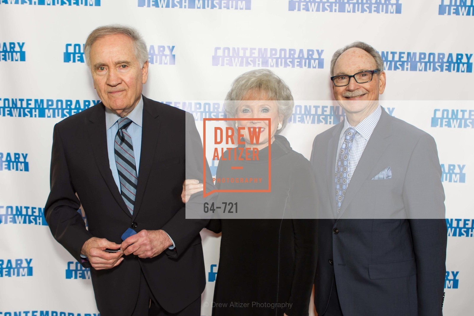 Ron Kaufman, Barbara Kaufman, Tom Kasten, The 2015 Dorothy Saxe Invitational Celebration at the JEWISH MUSEUM, US, May 12th, 2015,Drew Altizer, Drew Altizer Photography, full-service agency, private events, San Francisco photographer, photographer california