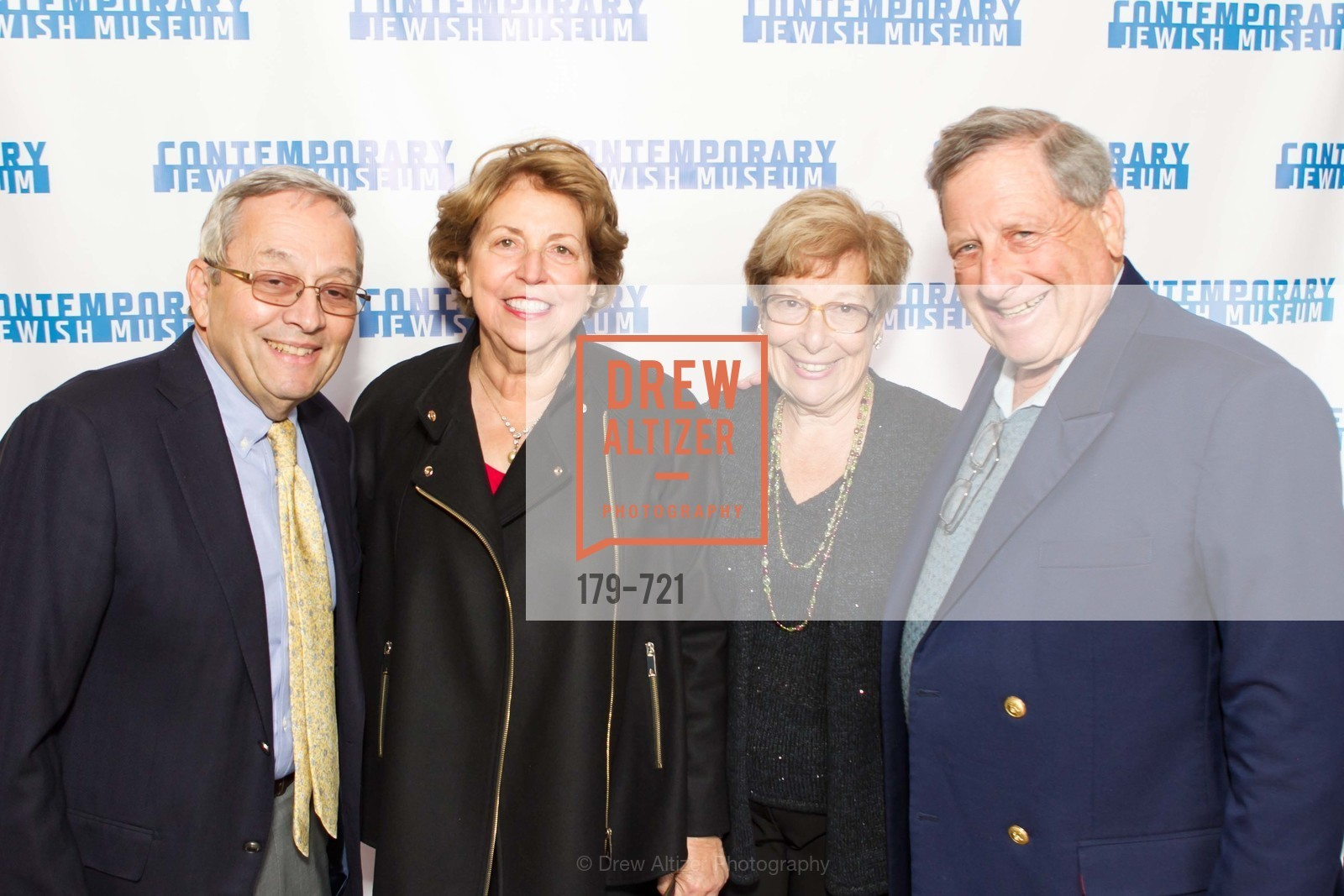 Barry Sherman, Carol Tesler, Esther Sherman, Bob Tesler, The 2015 Dorothy Saxe Invitational Celebration at the JEWISH MUSEUM, US, May 12th, 2015,Drew Altizer, Drew Altizer Photography, full-service agency, private events, San Francisco photographer, photographer california