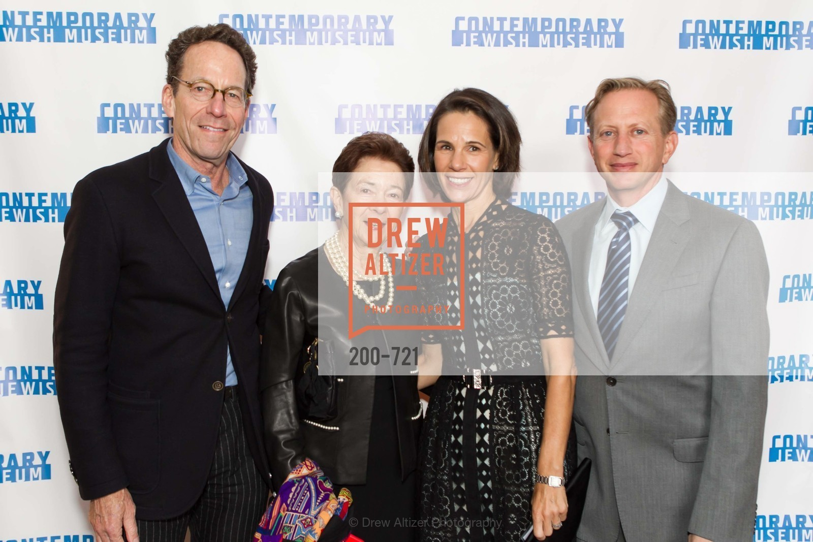 Alan Mark, Roselyne Swig, Shana Middler, David Middler, The 2015 Dorothy Saxe Invitational Celebration at the JEWISH MUSEUM, US, May 12th, 2015,Drew Altizer, Drew Altizer Photography, full-service agency, private events, San Francisco photographer, photographer california