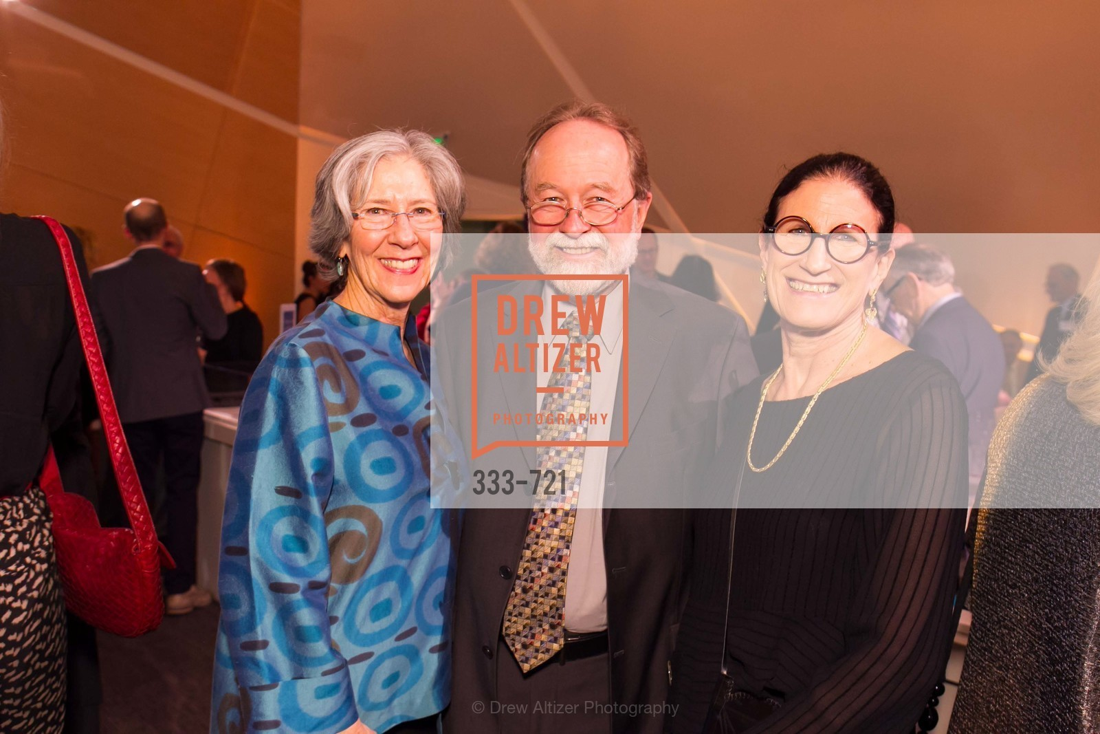 Shelly Saxe, Tony Henning, Carol Henning, The 2015 Dorothy Saxe Invitational Celebration at the JEWISH MUSEUM, US, May 13th, 2015,Drew Altizer, Drew Altizer Photography, full-service agency, private events, San Francisco photographer, photographer california