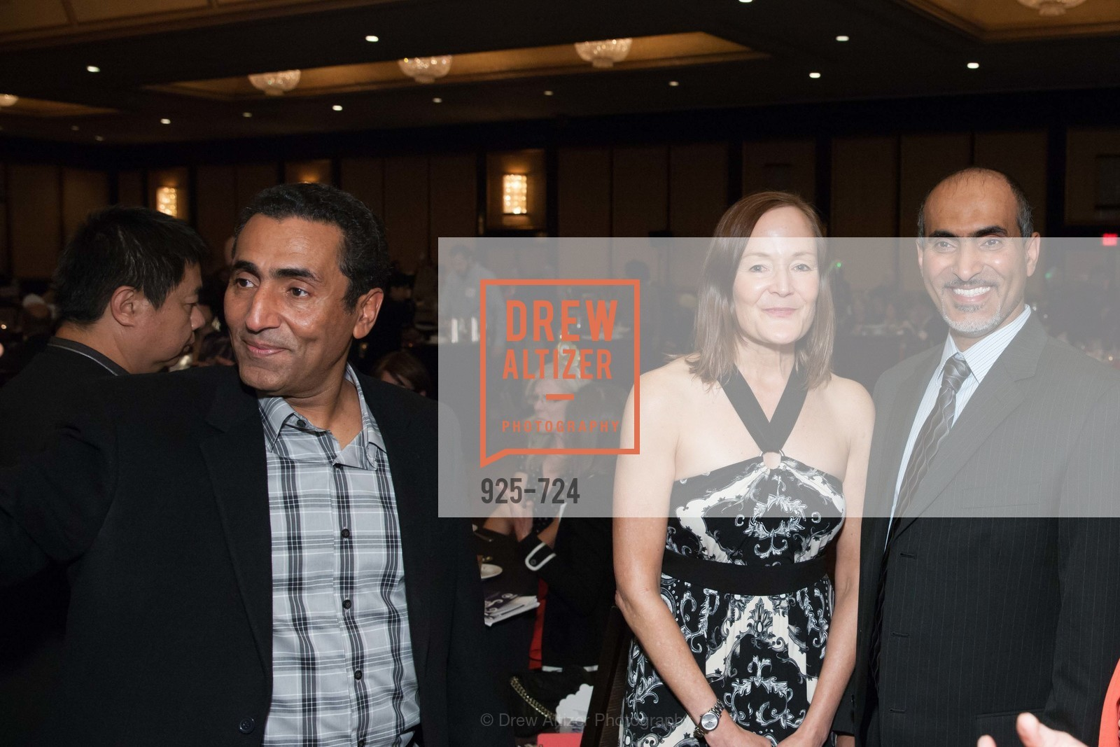 Fadal Radman, Noreen Beiro, Walid Radman, Cheryl Jennings, TNDC's 34th Annual Birthday Dinner, US, May 13th, 2015,Drew Altizer, Drew Altizer Photography, full-service agency, private events, San Francisco photographer, photographer california