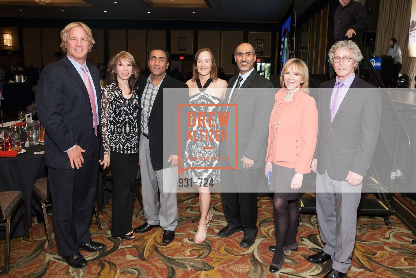 Rick Pettibone, Sheila Radman, Fadal Radman, Noreen Beiro, Walid Radman, Cheryl Jennings, Steve Tenets, TNDC's 34th Annual Birthday Dinner, US, May 13th, 2015,Drew Altizer, Drew Altizer Photography, full-service agency, private events, San Francisco photographer, photographer california