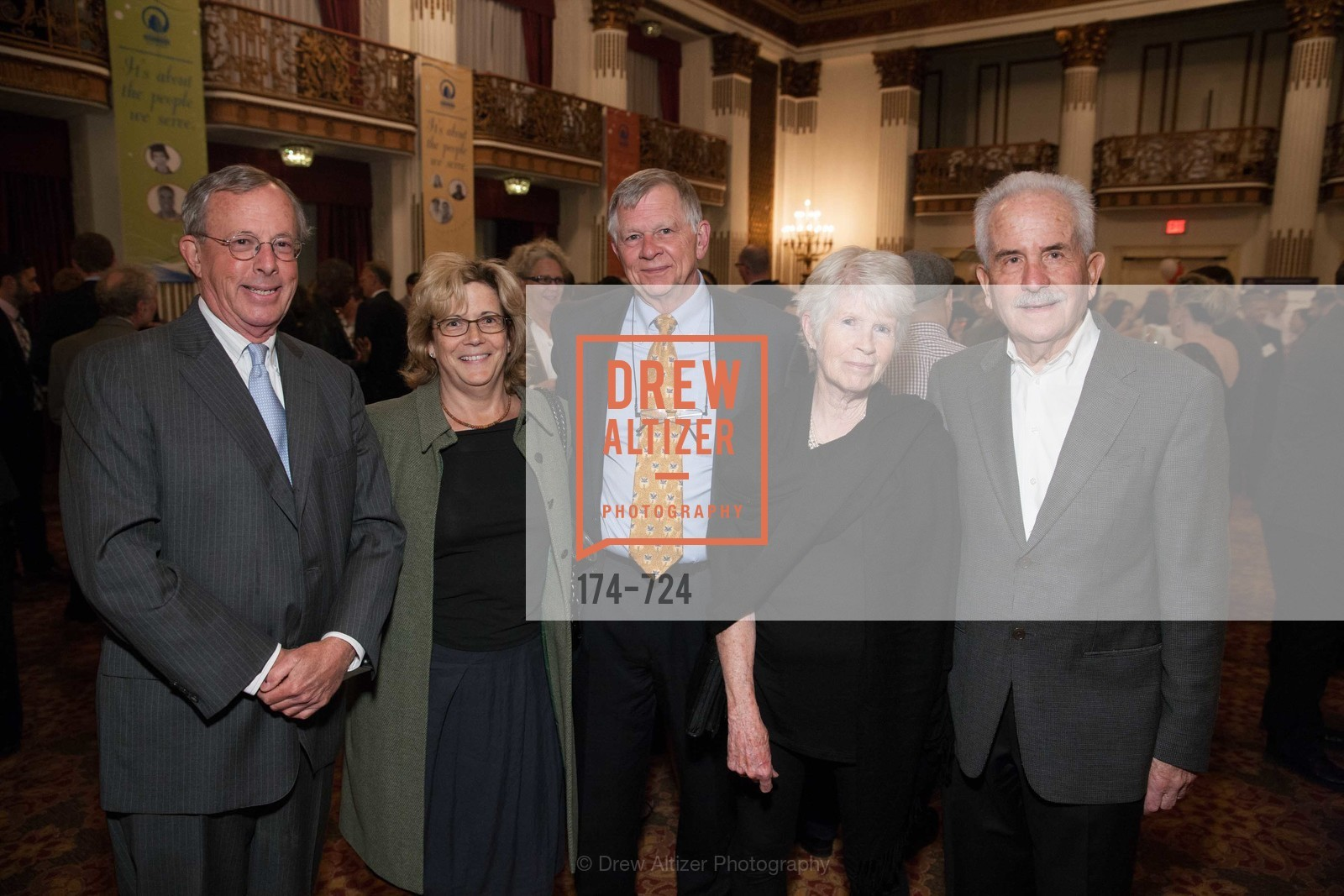Ken Odell, Radha Stern, Paul Fouts, Maryann Bridenbaugh, Gary Maxworthy, TNDC's 34th Annual Birthday Dinner, US, May 13th, 2015,Drew Altizer, Drew Altizer Photography, full-service agency, private events, San Francisco photographer, photographer california