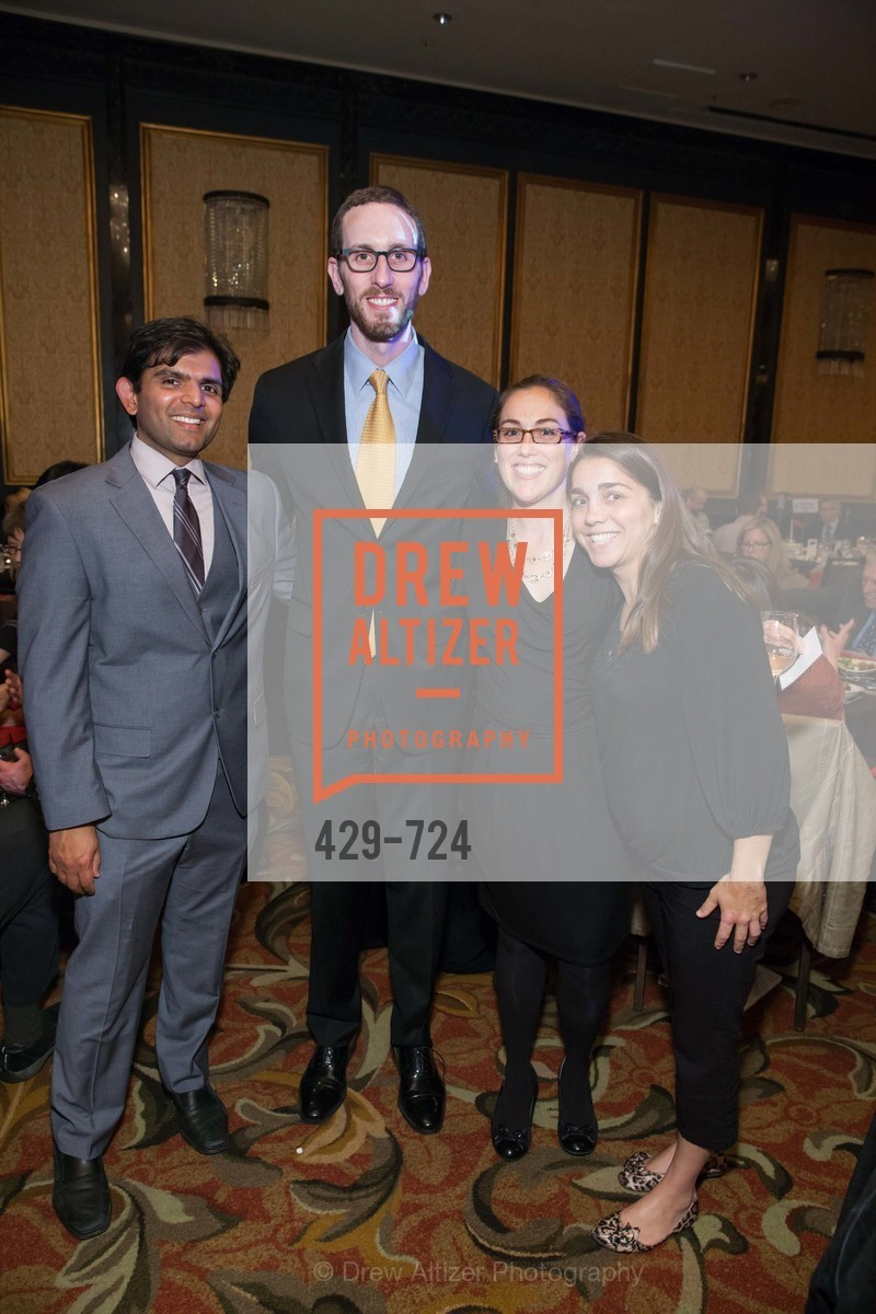 Josh Mukhopadhyay, Scott Weiner, Susan Garea, Erica Mohan, TNDC's 34th Annual Birthday Dinner, US, May 13th, 2015,Drew Altizer, Drew Altizer Photography, full-service agency, private events, San Francisco photographer, photographer california
