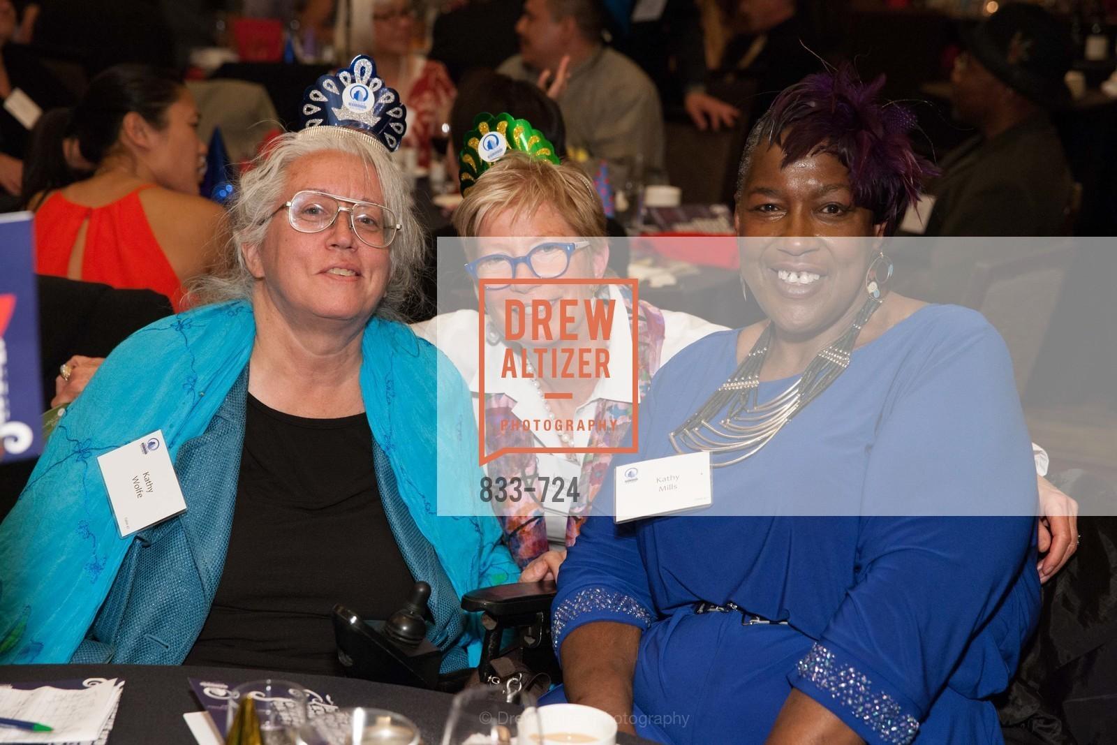 Kathy Wolfe, Loren Sanborn, Kethy Mills, TNDC's 34th Annual Birthday Dinner, US, May 12th, 2015,Drew Altizer, Drew Altizer Photography, full-service agency, private events, San Francisco photographer, photographer california