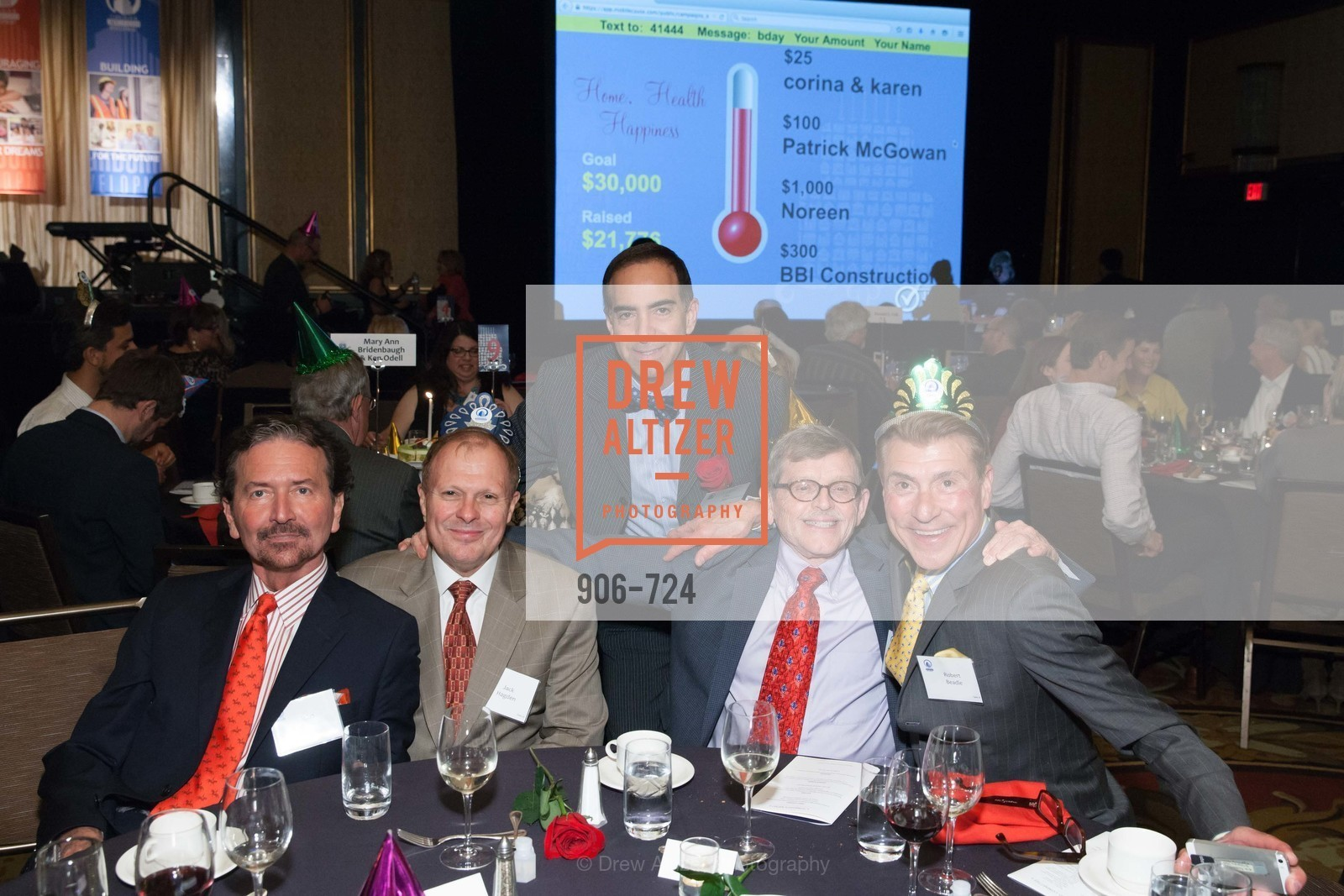 John Burns, Jack Hagden, Elie Abi, Bill Gregory, Robert Beadle, TNDC's 34th Annual Birthday Dinner, US, May 13th, 2015,Drew Altizer, Drew Altizer Photography, full-service agency, private events, San Francisco photographer, photographer california