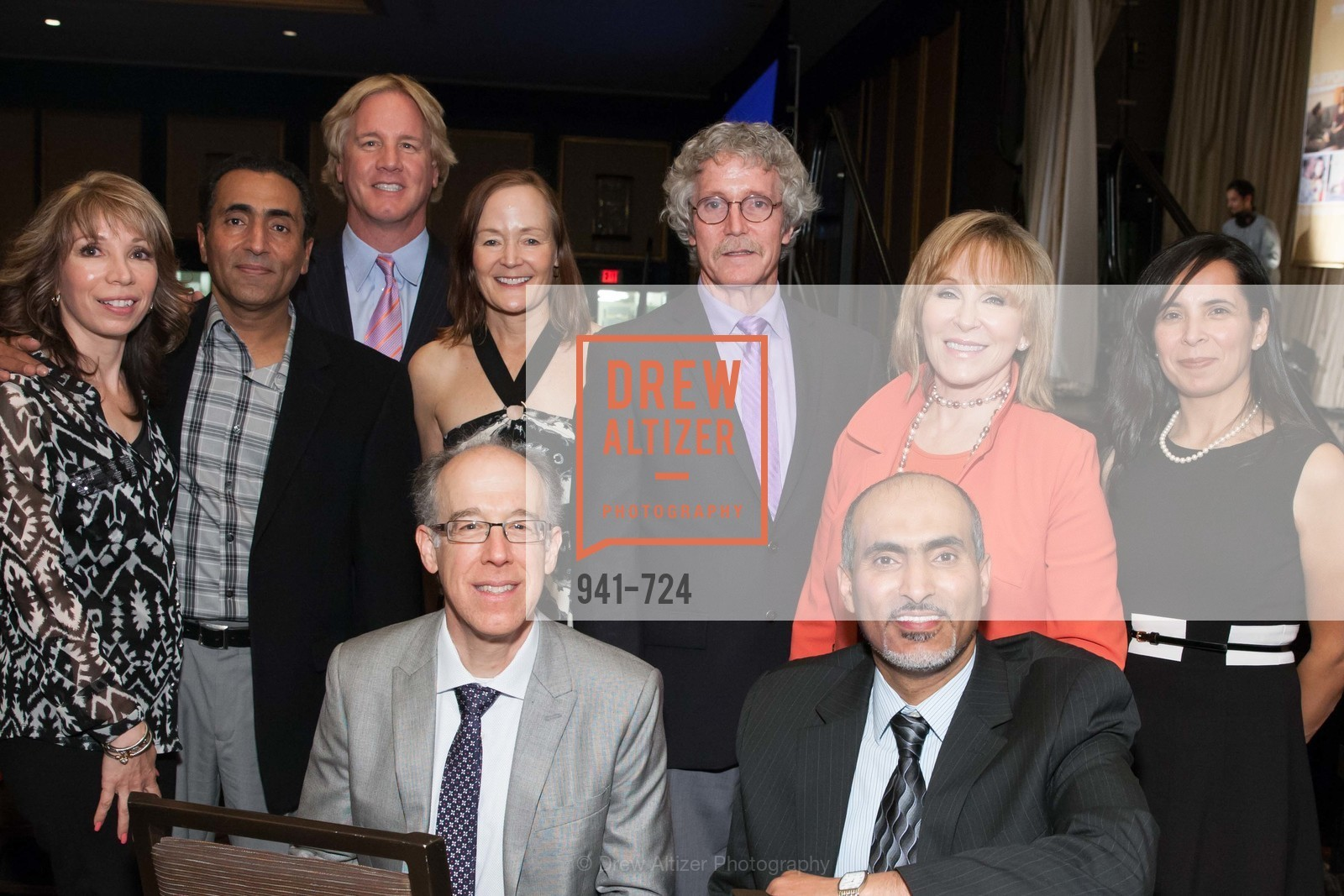 Sheila Radman, Fadal Radman, Don Falk, Rick Pettibone, Noreen Beiro, Steve Tenets, Cheryl Jennings, Walid Radman, Lillian Pena, TNDC's 34th Annual Birthday Dinner, US, May 12th, 2015,Drew Altizer, Drew Altizer Photography, full-service agency, private events, San Francisco photographer, photographer california