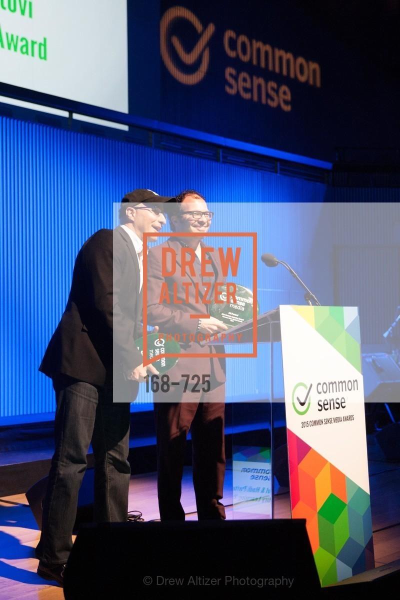 Hadi Partovi, Ali Partovi, COMMON SENSE Media Awards 2015, US, May 14th, 2015