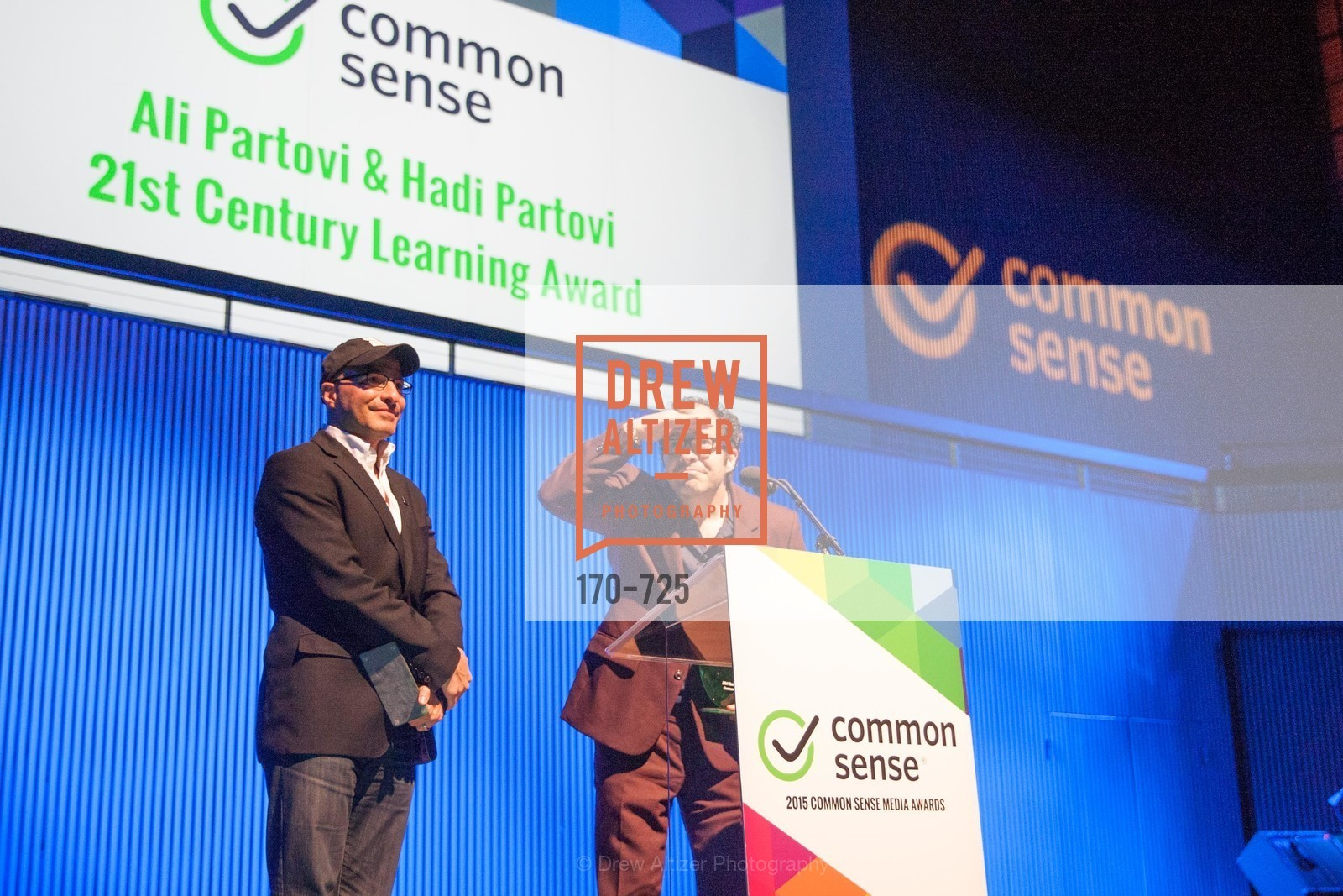 Hadi Partovi, Ali Partovi, COMMON SENSE Media Awards 2015, US, May 13th, 2015,Drew Altizer, Drew Altizer Photography, full-service agency, private events, San Francisco photographer, photographer california