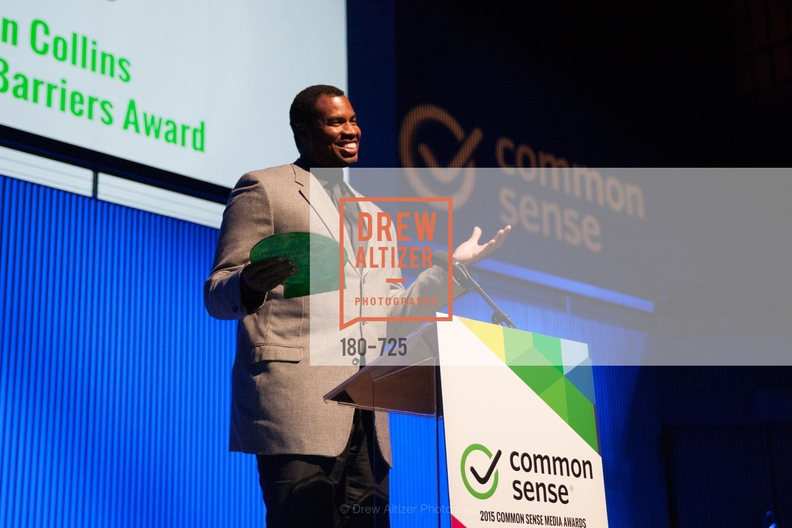 Jason Collins, COMMON SENSE Media Awards 2015, US, May 13th, 2015,Drew Altizer, Drew Altizer Photography, full-service agency, private events, San Francisco photographer, photographer california