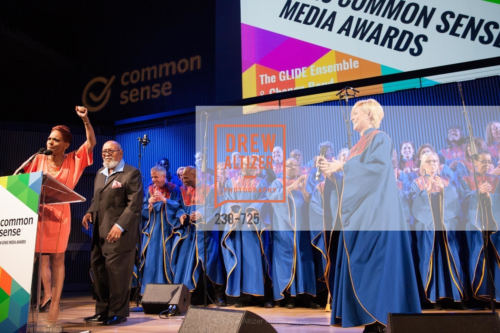 Janice Mirikitani, Reverend Cecil Williams, COMMON SENSE Media Awards 2015, US, May 14th, 2015,Drew Altizer, Drew Altizer Photography, full-service agency, private events, San Francisco photographer, photographer california