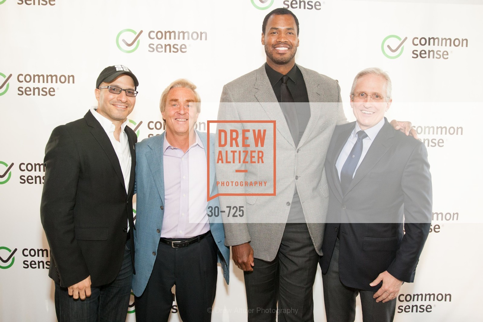 Hadi Partovi, Jim Steyer, Jason Collins, James Coulter, COMMON SENSE Media Awards 2015, US, May 14th, 2015