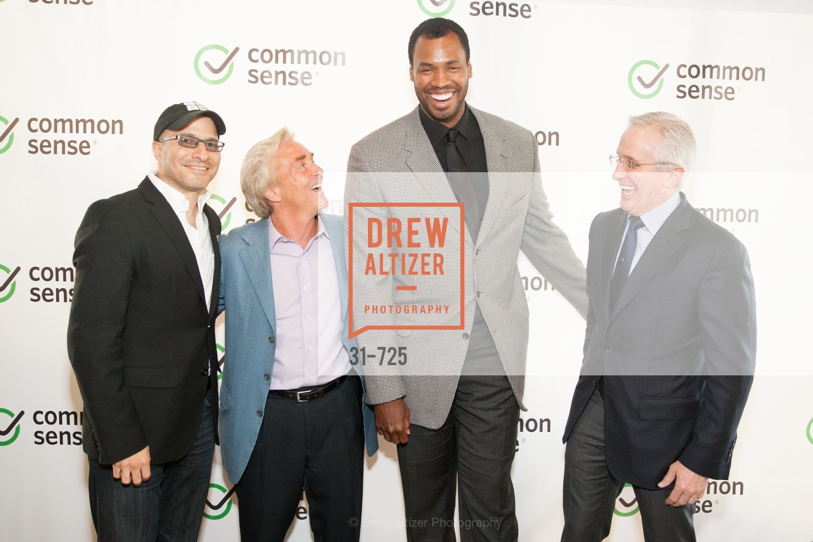 Hadi Partovi, Jim Steyer, Jason Collins, James Coulter, COMMON SENSE Media Awards 2015, US, May 14th, 2015,Drew Altizer, Drew Altizer Photography, full-service agency, private events, San Francisco photographer, photographer california