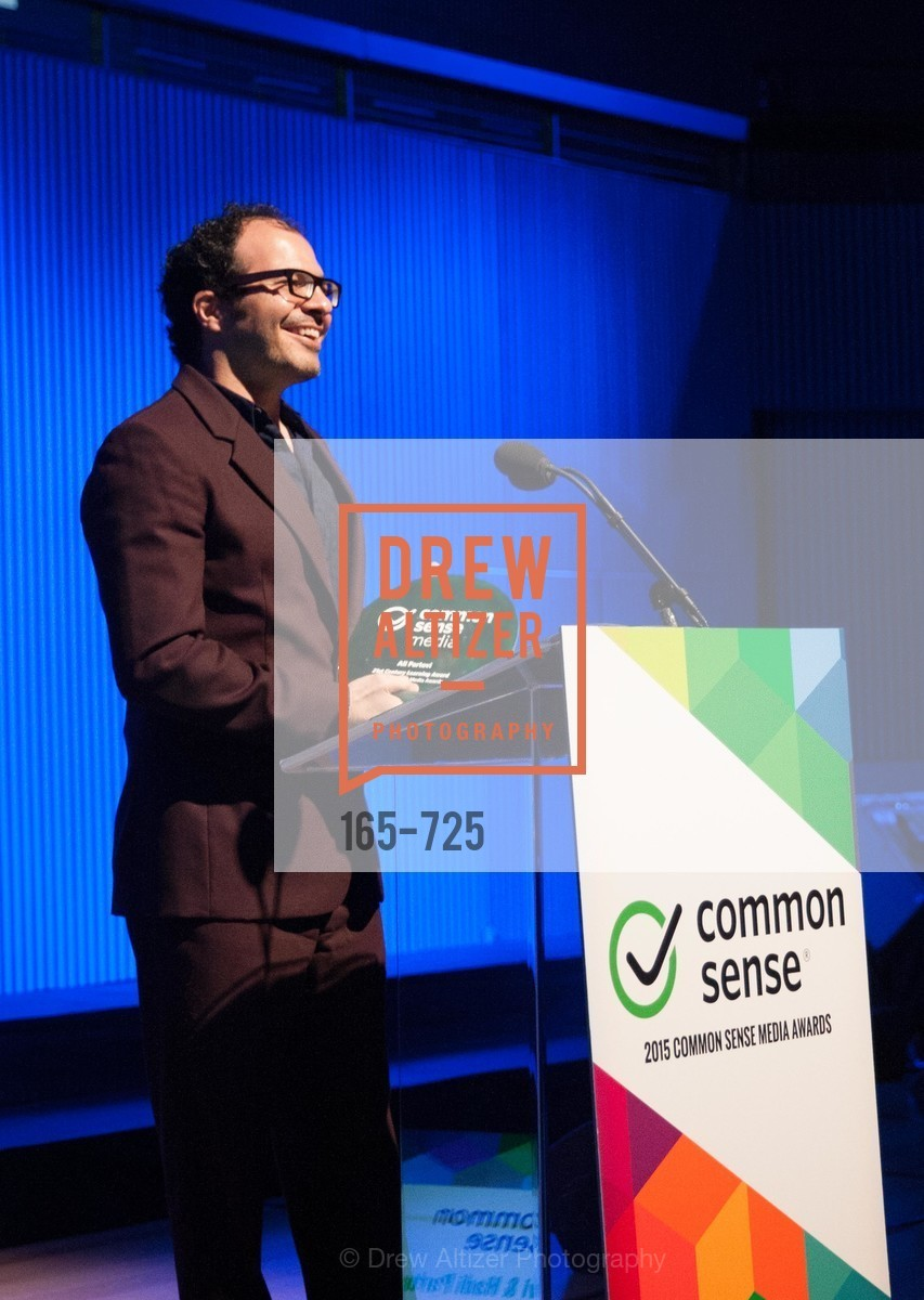 Ali Partovi, COMMON SENSE Media Awards 2015, US, May 13th, 2015,Drew Altizer, Drew Altizer Photography, full-service agency, private events, San Francisco photographer, photographer california