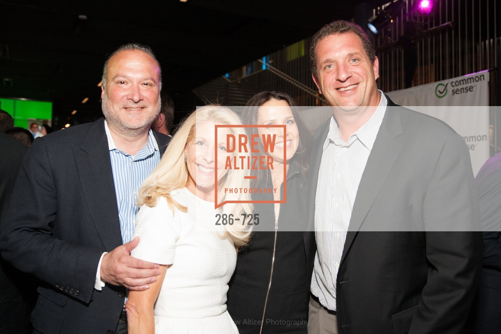 Robert Blum, Dana Blum, Megan Bargain, Eric Bargain, COMMON SENSE Media Awards 2015, US, May 14th, 2015,Drew Altizer, Drew Altizer Photography, full-service event agency, private events, San Francisco photographer, photographer California