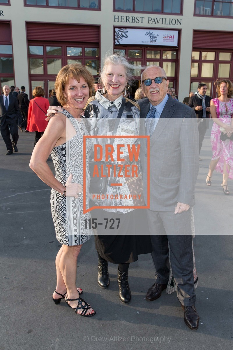 Lee Gregory, Leah Garchik, Wilkes Bashford, SAN FRANCISCO ART INSTITUTE Gala Honoring Art Visionary and Advocate ROSELYNE CHROMAN SWIG, US, May 14th, 2015,Drew Altizer, Drew Altizer Photography, full-service agency, private events, San Francisco photographer, photographer california