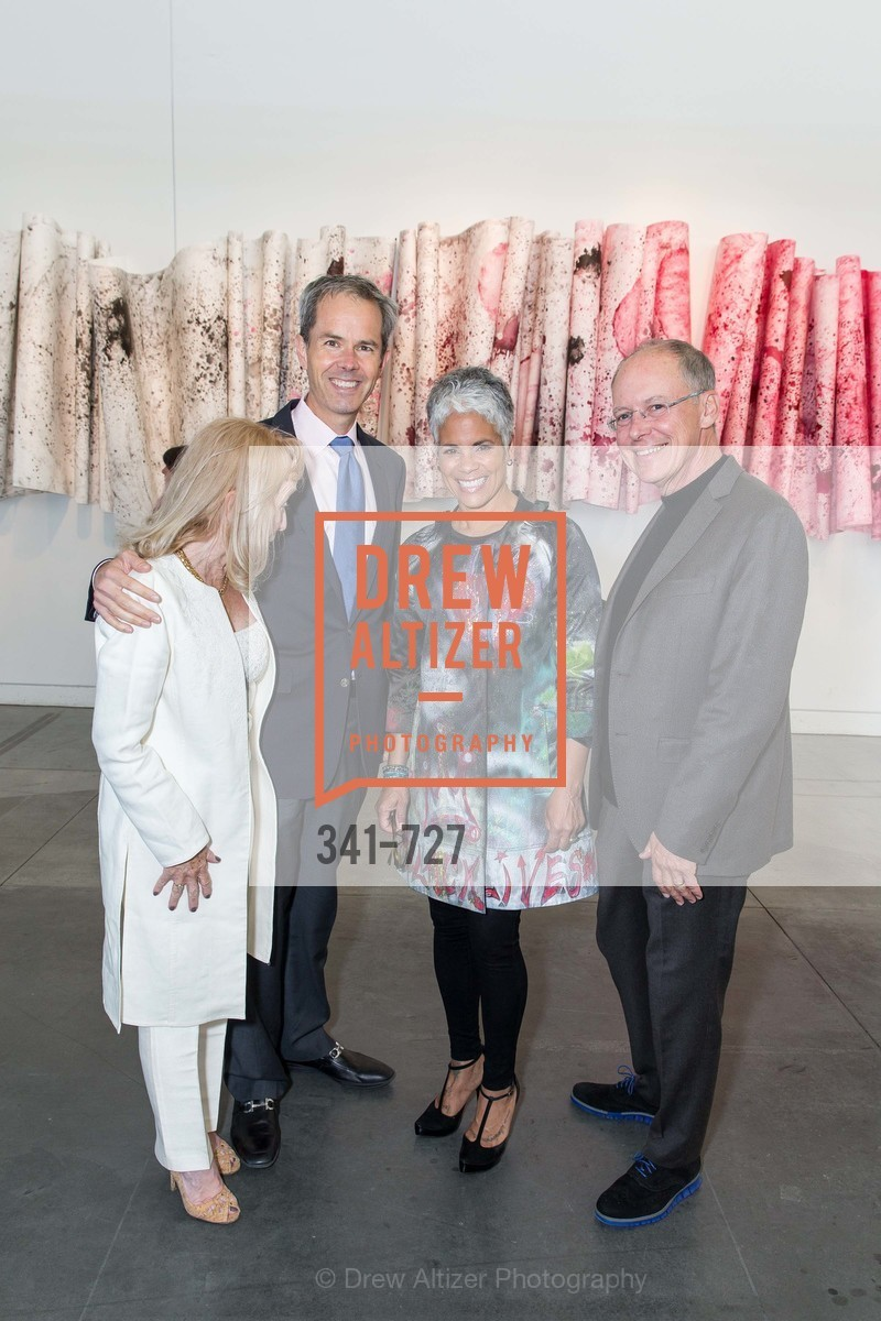 Cynthia Plevin, Jay Kern, Dana King, Charles Desmarais, SAN FRANCISCO ART INSTITUTE Gala Honoring Art Visionary and Advocate ROSELYNE CHROMAN SWIG, US, May 14th, 2015,Drew Altizer, Drew Altizer Photography, full-service agency, private events, San Francisco photographer, photographer california
