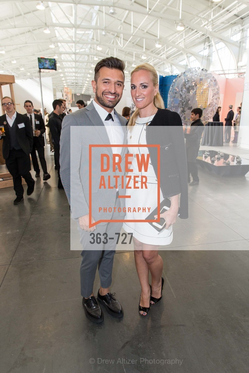 David Mohammadi, Mia Mandich, SAN FRANCISCO ART INSTITUTE Gala Honoring Art Visionary and Advocate ROSELYNE CHROMAN SWIG, US, May 13th, 2015,Drew Altizer, Drew Altizer Photography, full-service agency, private events, San Francisco photographer, photographer california