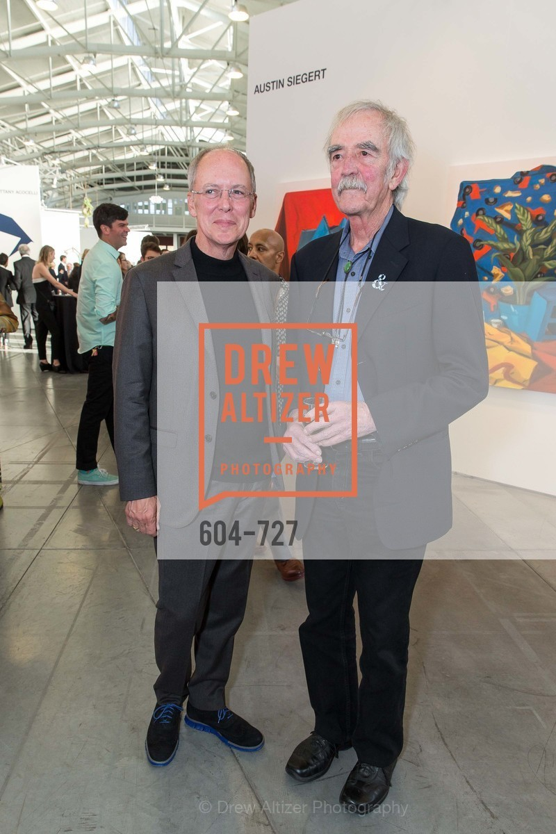 Charles Desmarais, William Wiley, SAN FRANCISCO ART INSTITUTE Gala Honoring Art Visionary and Advocate ROSELYNE CHROMAN SWIG, US, May 14th, 2015,Drew Altizer, Drew Altizer Photography, full-service agency, private events, San Francisco photographer, photographer california