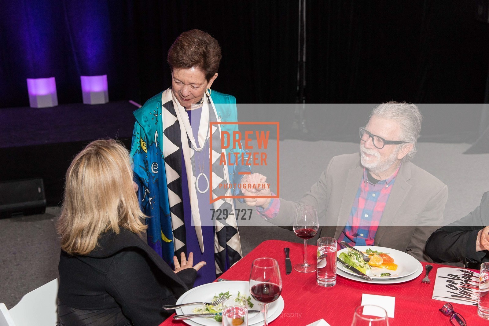 Cissie Swig, Robert Hudson, SAN FRANCISCO ART INSTITUTE Gala Honoring Art Visionary and Advocate ROSELYNE CHROMAN SWIG, US, May 14th, 2015,Drew Altizer, Drew Altizer Photography, full-service agency, private events, San Francisco photographer, photographer california