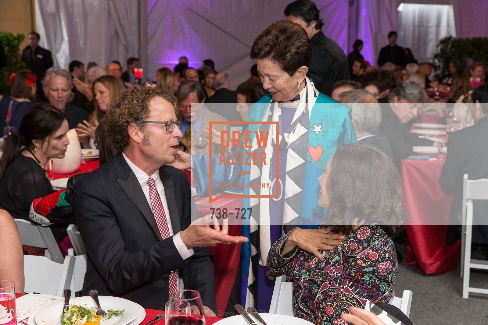 Ken Goldberg, Cissie Swig, Darian Swig, SAN FRANCISCO ART INSTITUTE Gala Honoring Art Visionary and Advocate ROSELYNE CHROMAN SWIG, US, May 14th, 2015,Drew Altizer, Drew Altizer Photography, full-service agency, private events, San Francisco photographer, photographer california