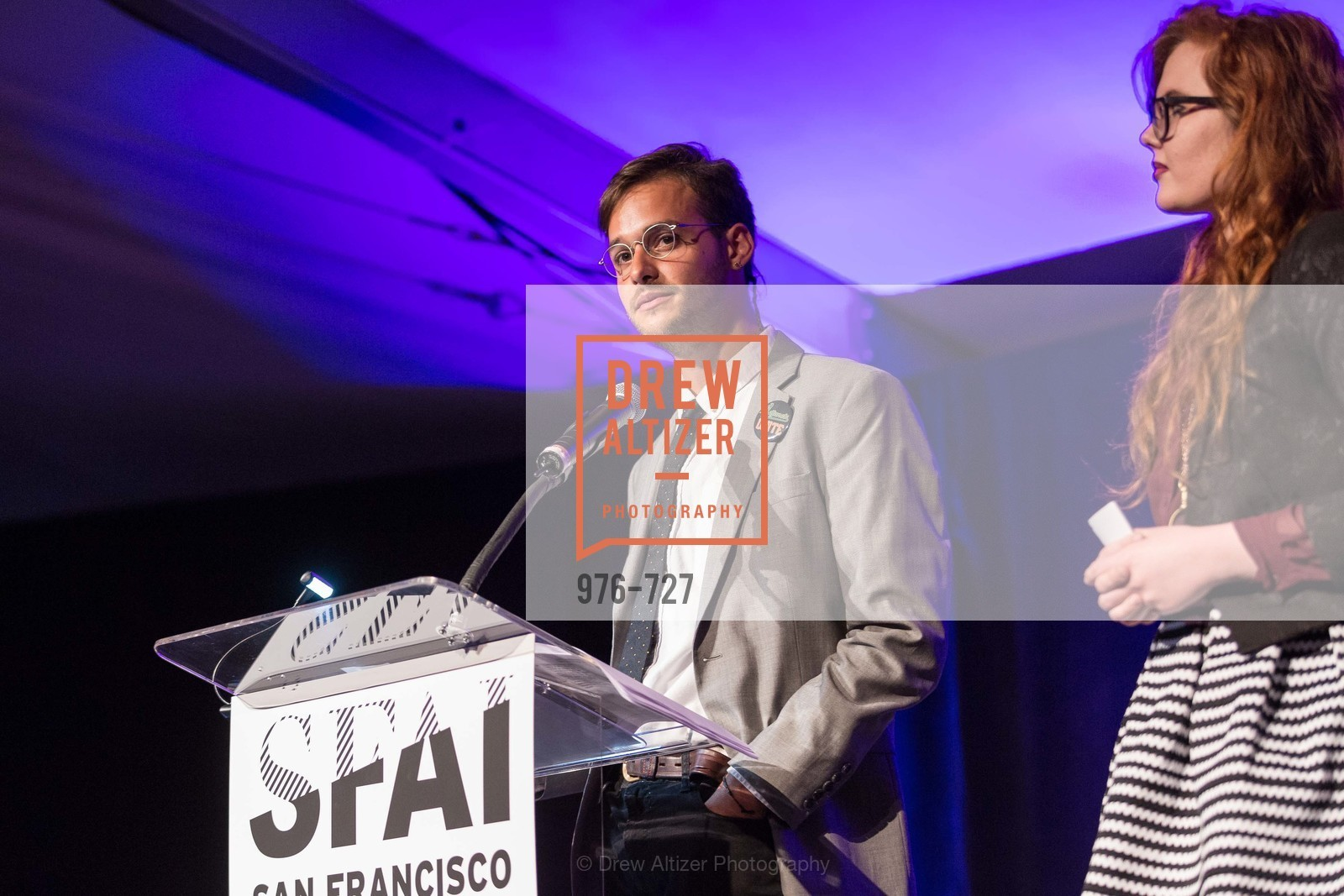 Juan Pablo Pacheco, Amanda Shields, SAN FRANCISCO ART INSTITUTE Gala Honoring Art Visionary and Advocate ROSELYNE CHROMAN SWIG, US, May 14th, 2015,Drew Altizer, Drew Altizer Photography, full-service agency, private events, San Francisco photographer, photographer california
