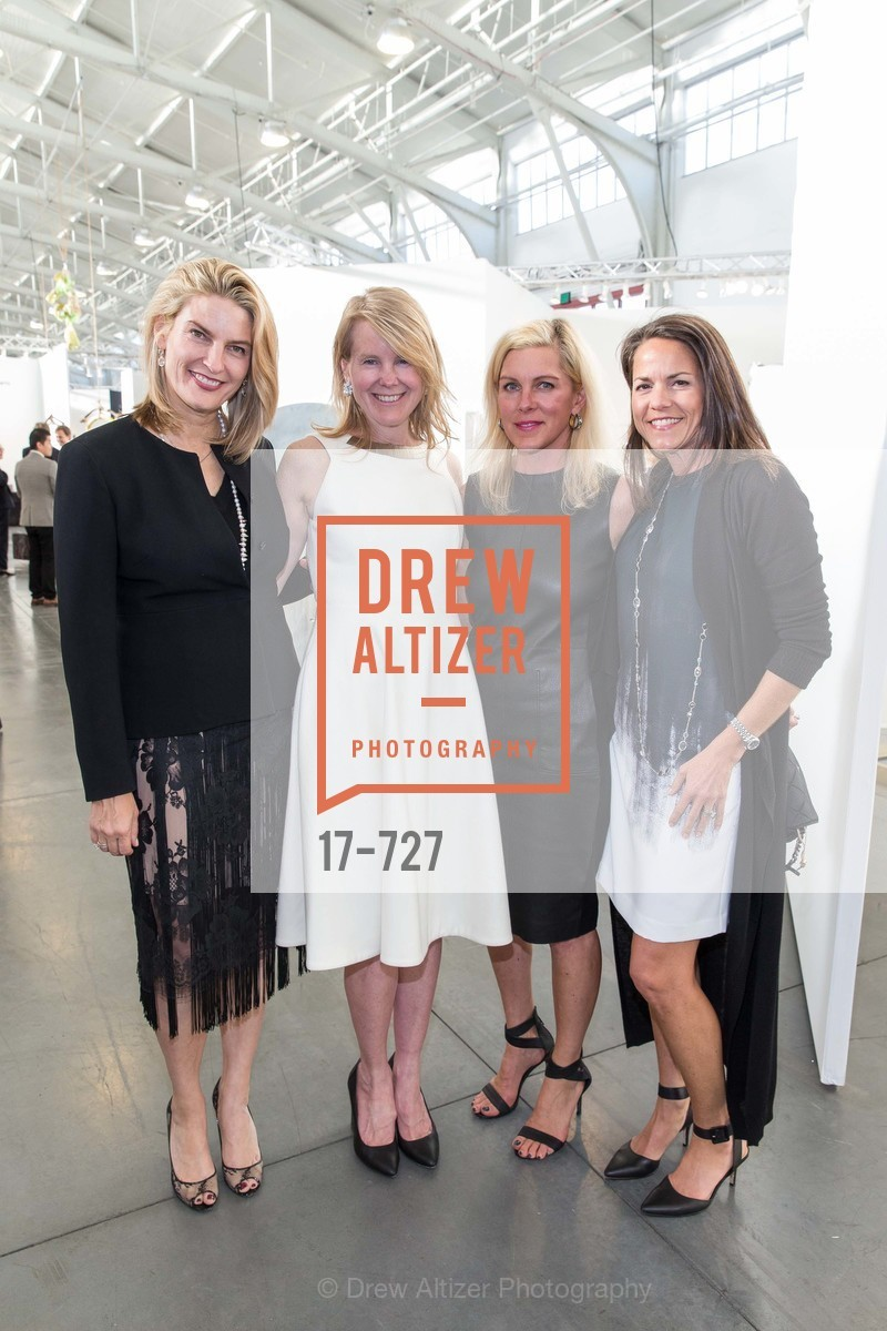 Mindy Henderson, Jenny Emerson, Holly Farrell, Elizabeth Gerber, SAN FRANCISCO ART INSTITUTE Gala Honoring Art Visionary and Advocate ROSELYNE CHROMAN SWIG, US, May 13th, 2015,Drew Altizer, Drew Altizer Photography, full-service agency, private events, San Francisco photographer, photographer california