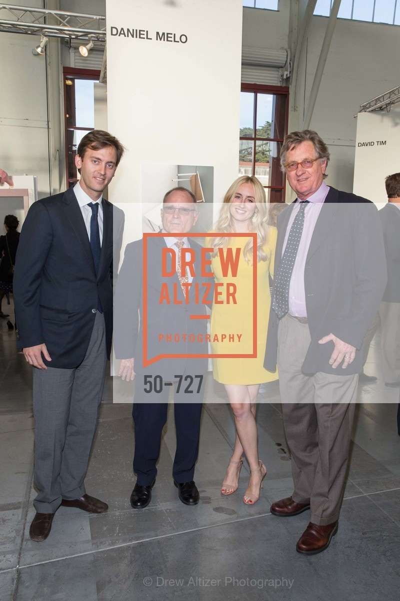 Scott Blumenkranz, Andrew Belschner, Sydney Lalonde, Phil Lalonde, SAN FRANCISCO ART INSTITUTE Gala Honoring Art Visionary and Advocate ROSELYNE CHROMAN SWIG, US, May 14th, 2015,Drew Altizer, Drew Altizer Photography, full-service agency, private events, San Francisco photographer, photographer california