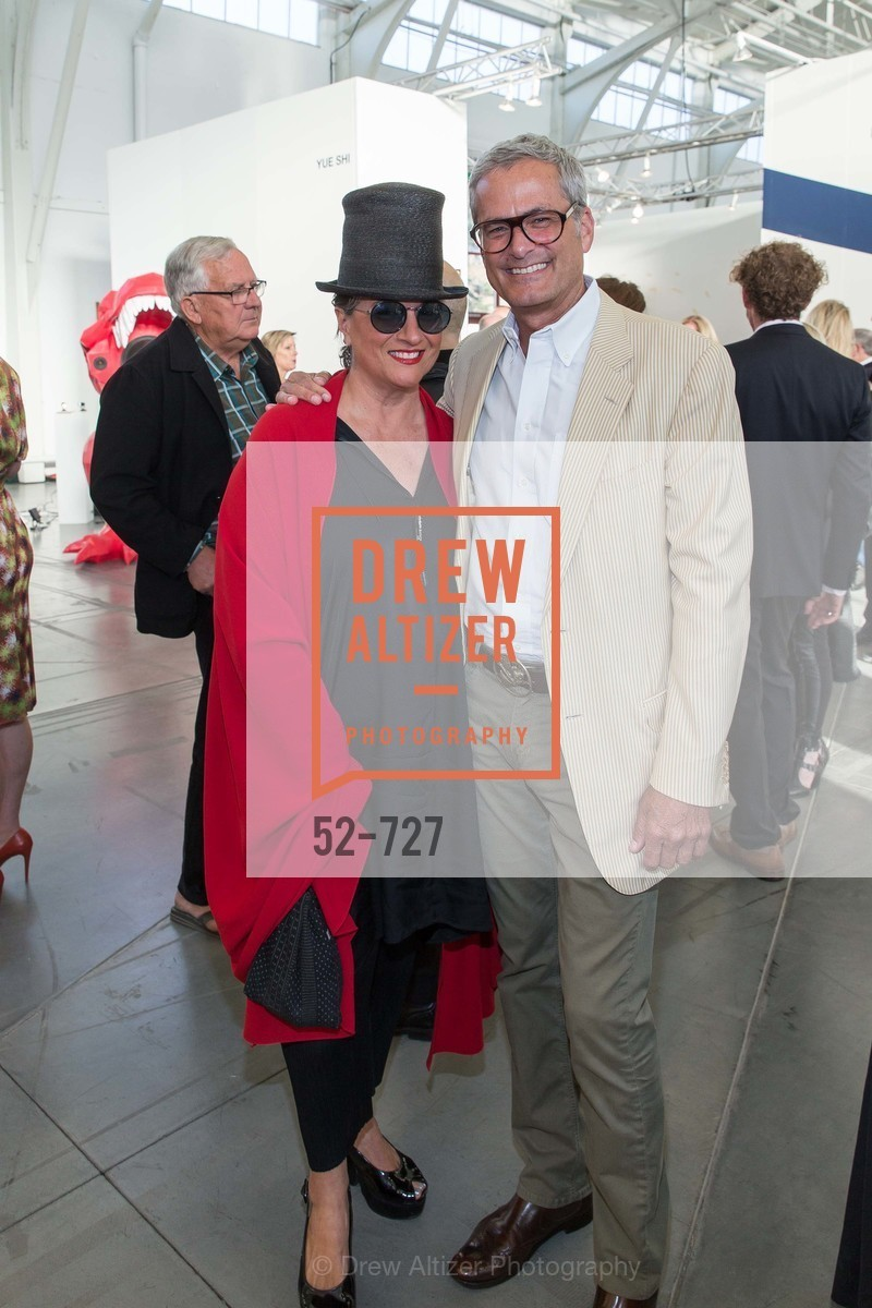 Marta Salas-Porras, Mark Ritchie, SAN FRANCISCO ART INSTITUTE Gala Honoring Art Visionary and Advocate ROSELYNE CHROMAN SWIG, US, May 14th, 2015,Drew Altizer, Drew Altizer Photography, full-service agency, private events, San Francisco photographer, photographer california