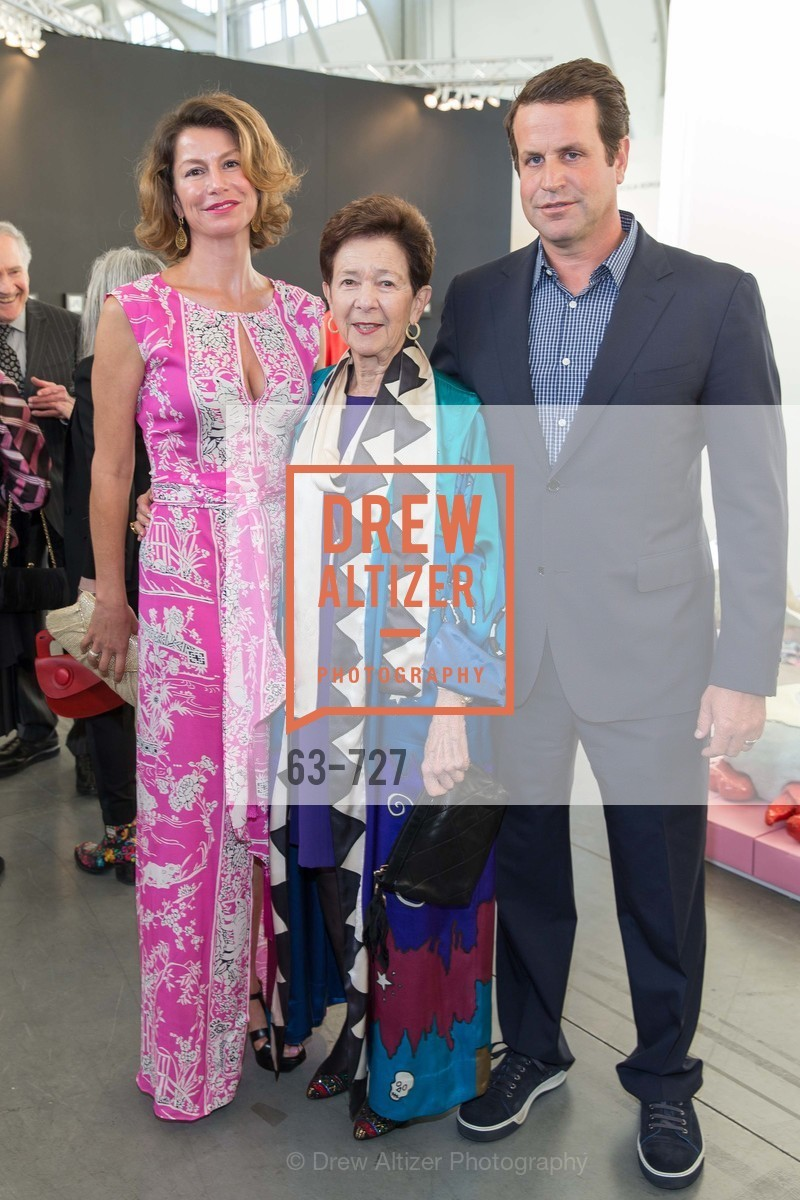 Simone LaCorte, Cissie Swig, Nick Heldfond, SAN FRANCISCO ART INSTITUTE Gala Honoring Art Visionary and Advocate ROSELYNE CHROMAN SWIG, US, May 14th, 2015,Drew Altizer, Drew Altizer Photography, full-service agency, private events, San Francisco photographer, photographer california