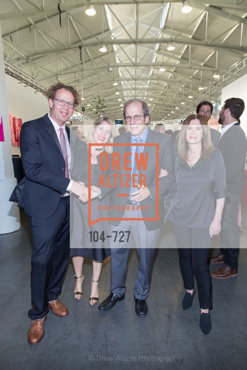 Ken Goldberg, Tiffany Shlain, Michael Krasny, Leslie Krasny, SAN FRANCISCO ART INSTITUTE Gala Honoring Art Visionary and Advocate ROSELYNE CHROMAN SWIG, US, May 14th, 2015,Drew Altizer, Drew Altizer Photography, full-service agency, private events, San Francisco photographer, photographer california