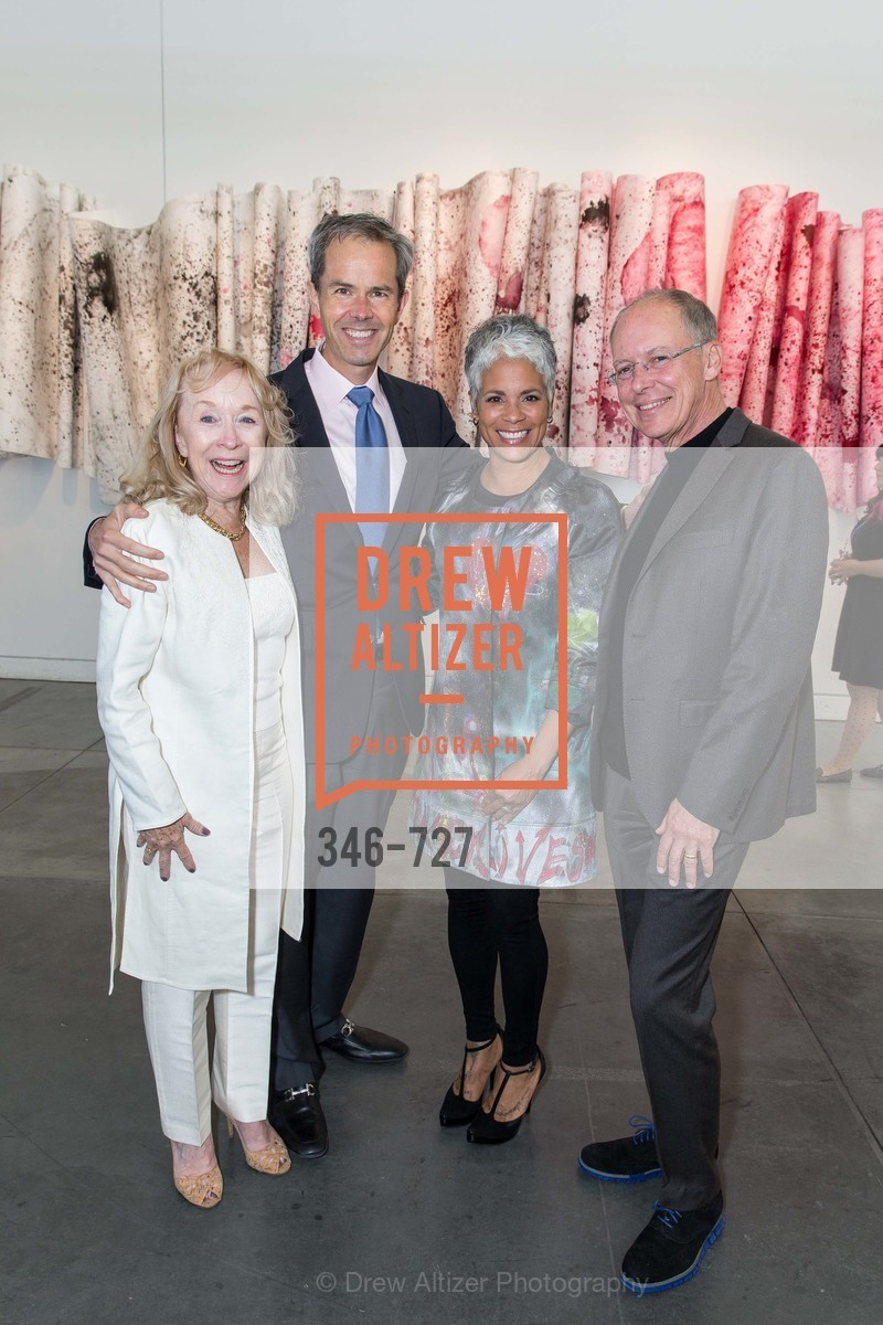 Cynthia Plevin, Jay Kern, Dana King, Charles Desmarais, SAN FRANCISCO ART INSTITUTE Gala Honoring Art Visionary and Advocate ROSELYNE CHROMAN SWIG, US, May 13th, 2015,Drew Altizer, Drew Altizer Photography, full-service agency, private events, San Francisco photographer, photographer california