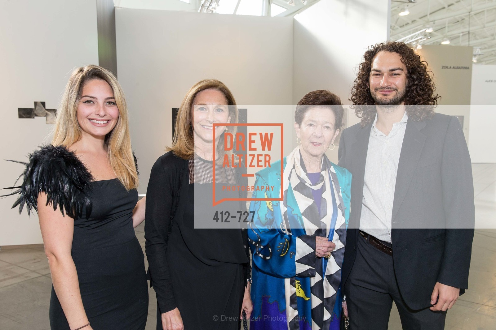 Jordan Arendas, Sari Swig, Cissie Swig, Adam Swig, SAN FRANCISCO ART INSTITUTE Gala Honoring Art Visionary and Advocate ROSELYNE CHROMAN SWIG, US, May 14th, 2015,Drew Altizer, Drew Altizer Photography, full-service agency, private events, San Francisco photographer, photographer california