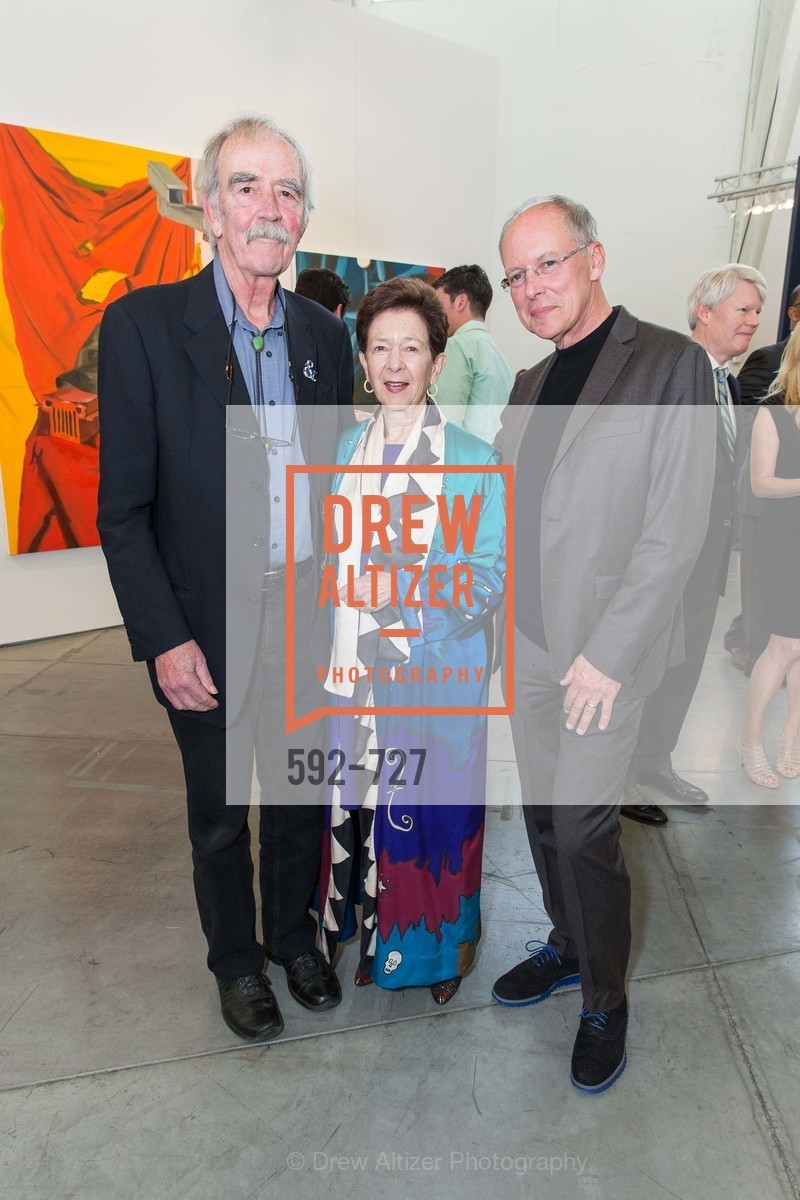 William Wiley, Cissie Swig, Charles Desmarais, SAN FRANCISCO ART INSTITUTE Gala Honoring Art Visionary and Advocate ROSELYNE CHROMAN SWIG, US, May 14th, 2015,Drew Altizer, Drew Altizer Photography, full-service agency, private events, San Francisco photographer, photographer california