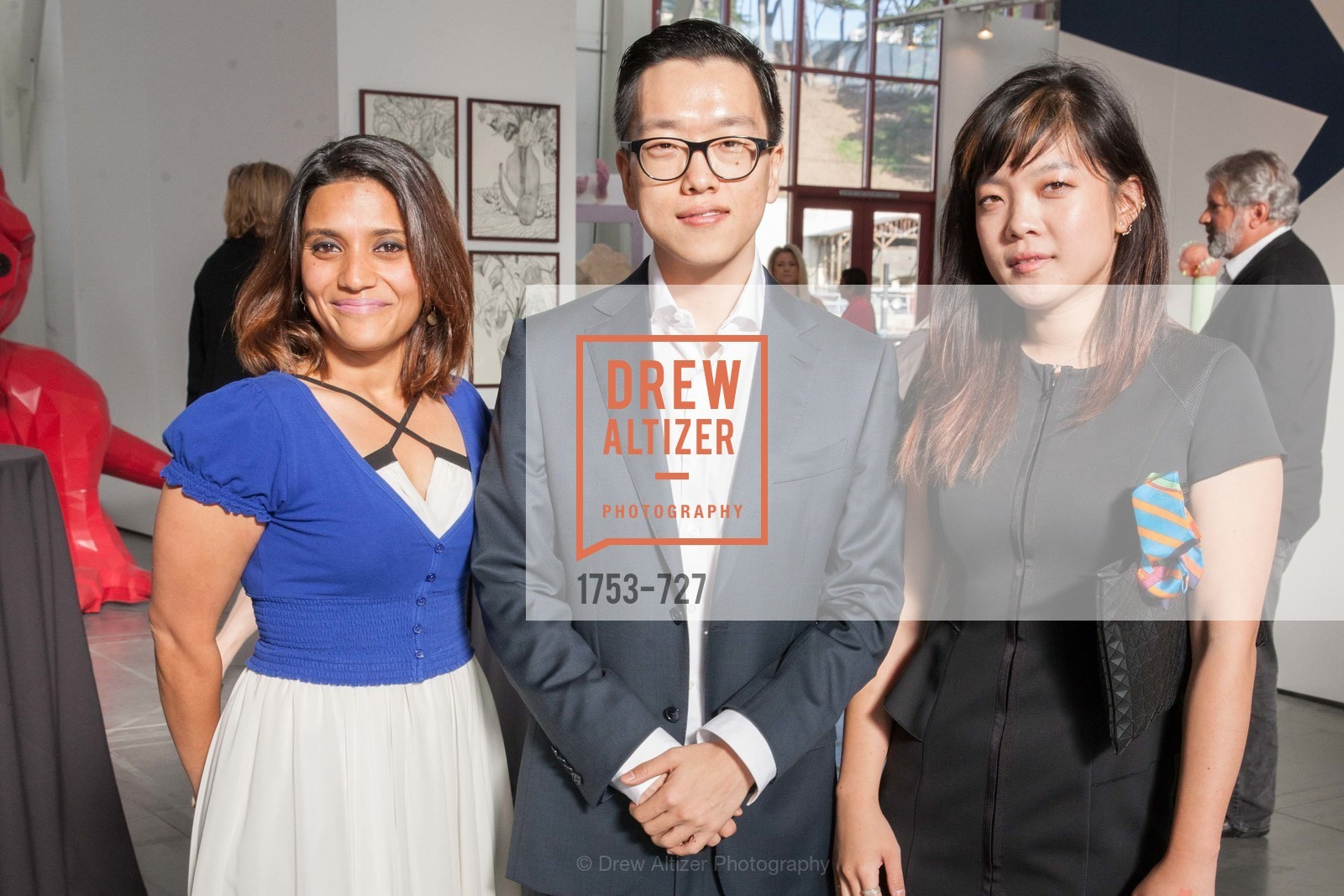 Silva Ahmad, Rusty Chung, Grace Kim, SAN FRANCISCO ART INSTITUTE Gala Honoring Art Visionary and Advocate ROSELYNE CHROMAN SWIG, US, May 14th, 2015,Drew Altizer, Drew Altizer Photography, full-service agency, private events, San Francisco photographer, photographer california