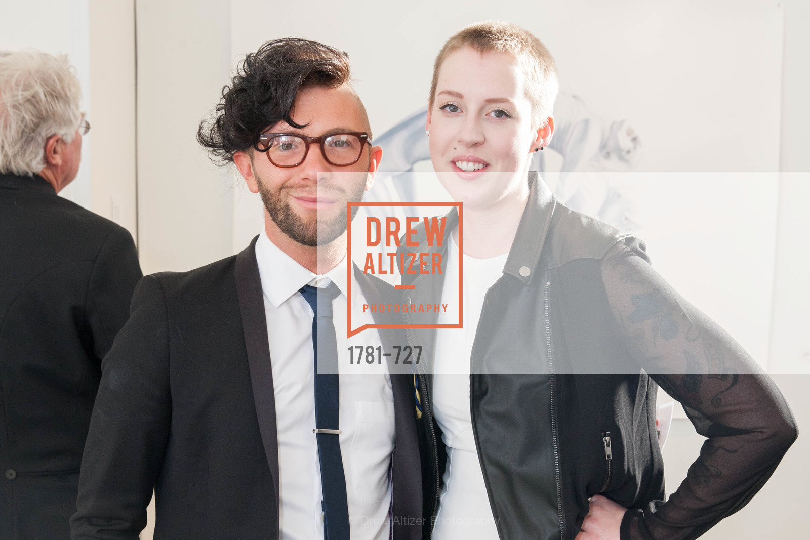 Aaron David Kissman, Anna Garsky, SAN FRANCISCO ART INSTITUTE Gala Honoring Art Visionary and Advocate ROSELYNE CHROMAN SWIG, US, May 13th, 2015,Drew Altizer, Drew Altizer Photography, full-service agency, private events, San Francisco photographer, photographer california