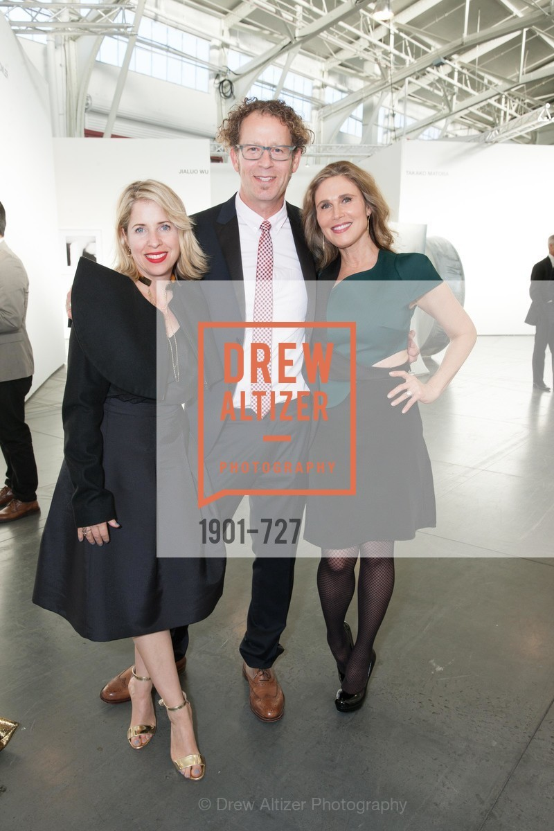 Tiffany Shlain, Ken Goldberg, Jamie Lunder, SAN FRANCISCO ART INSTITUTE Gala Honoring Art Visionary and Advocate ROSELYNE CHROMAN SWIG, US, May 14th, 2015,Drew Altizer, Drew Altizer Photography, full-service agency, private events, San Francisco photographer, photographer california