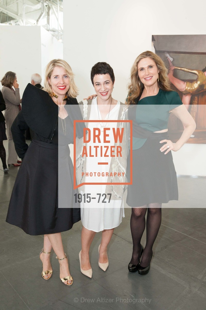 Tiffany Shlain, Aimee  Roshoni, Jamie Lunder, SAN FRANCISCO ART INSTITUTE Gala Honoring Art Visionary and Advocate ROSELYNE CHROMAN SWIG, US, May 14th, 2015,Drew Altizer, Drew Altizer Photography, full-service agency, private events, San Francisco photographer, photographer california
